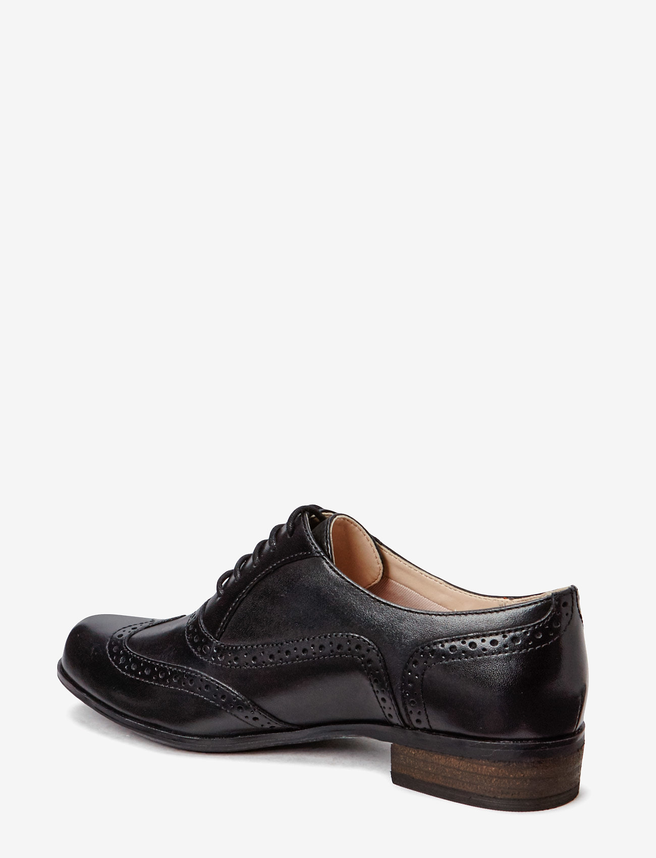 Clarks - Hamble Oak - buty sznurowane - black leather - 1