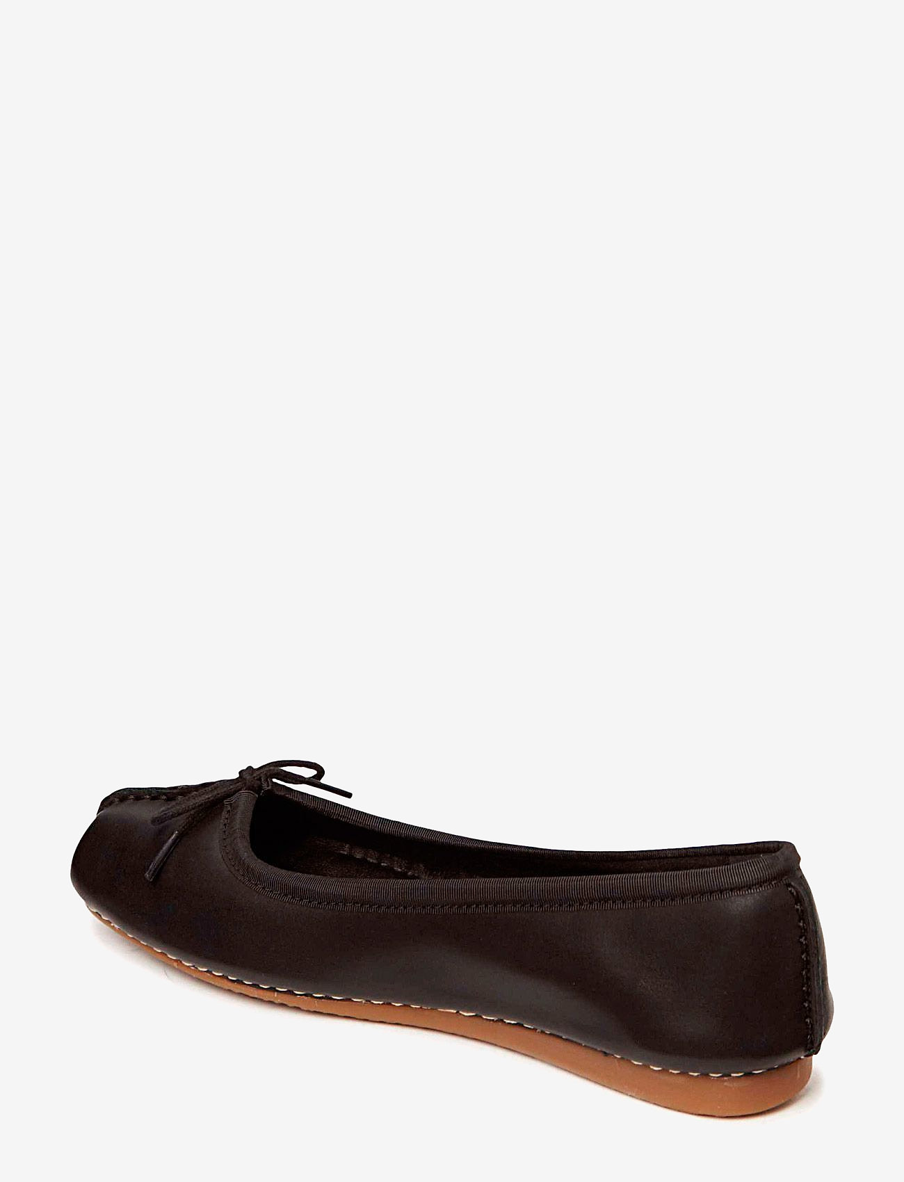 Clarks - Freckle Ice - ballerinaer - black leather - 1