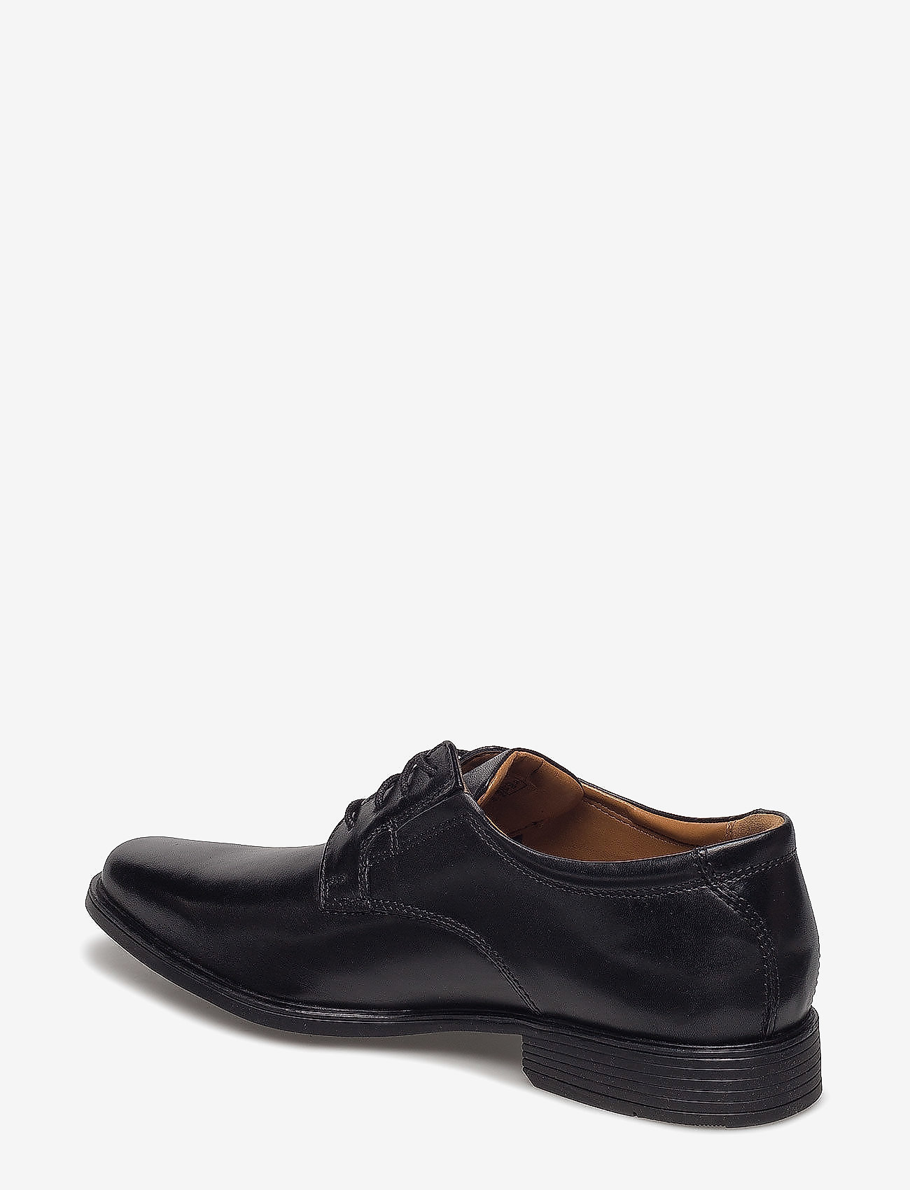 Clarks Tilden Plain - Business Black Leather