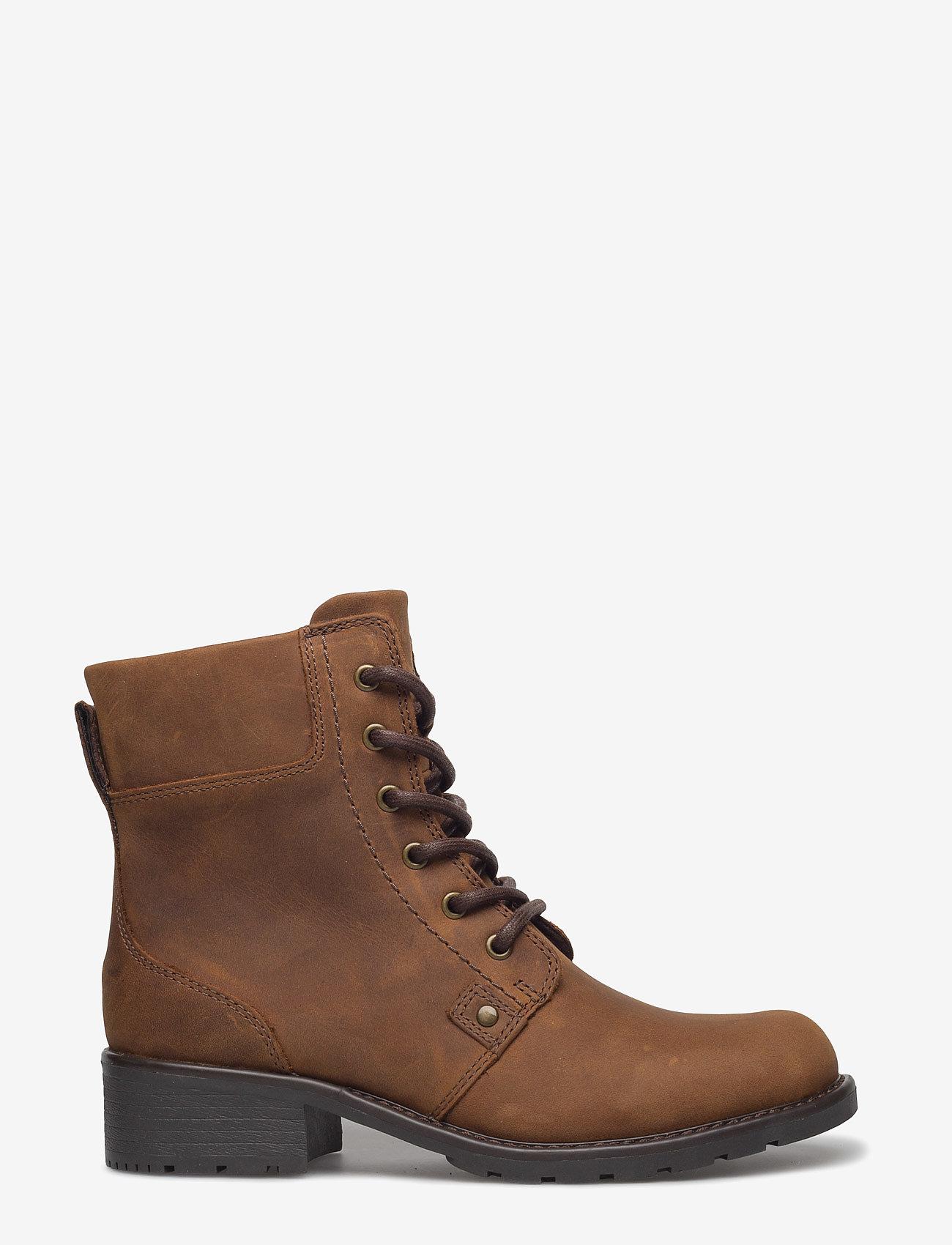 Clarks - Orinoco Spice - flade ankelstøvler - brown snuff - 1