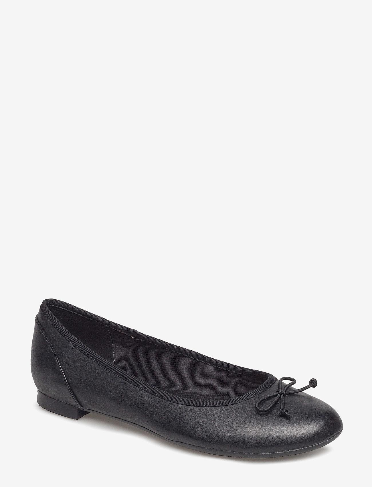 Clarks - Couture Bloom - ballerinasko - black leather - 0