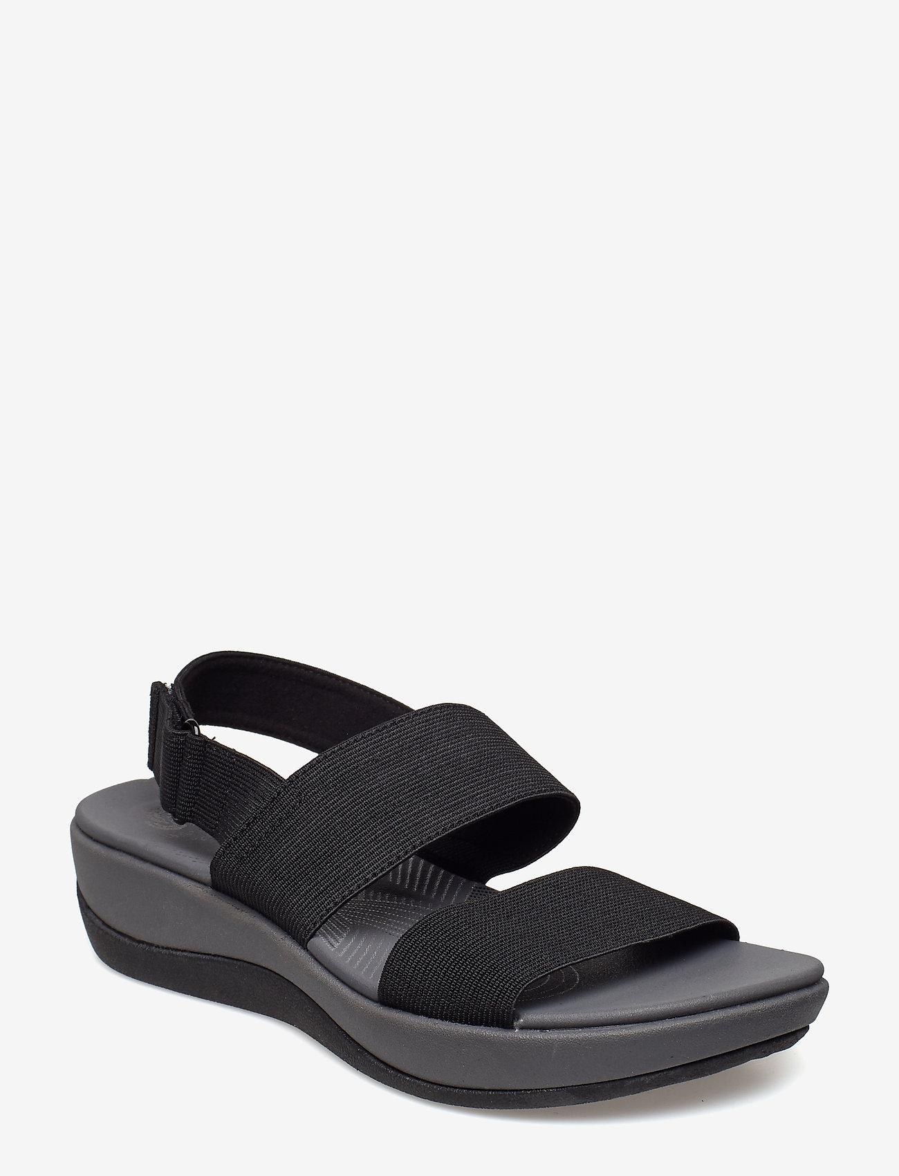 Clarks - Arla Jacory - platta sandaler - black - 0