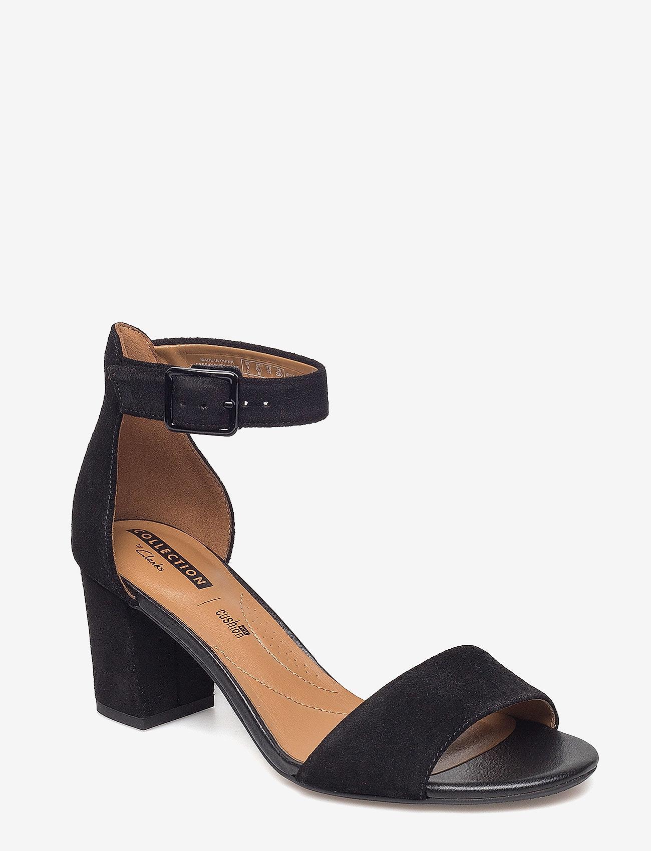 Clarks - Deva Mae - högklackade sandaler - black sde - 0