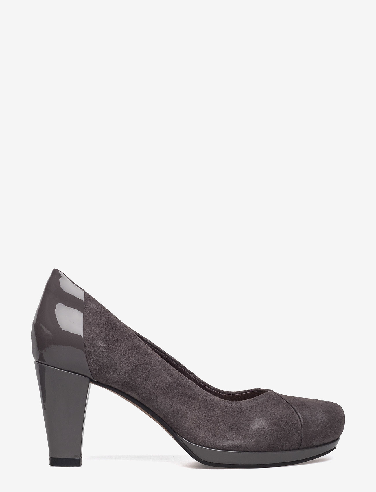 Clarks - Chorus Carol - klassiske pumps - dark grey combi - 1