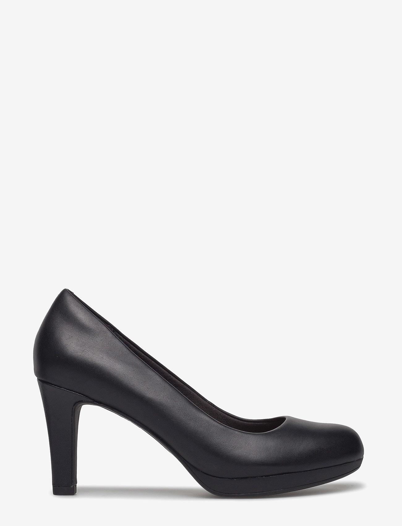 Clarks - Adriel Viola - klassiske pumps - black leather - 1