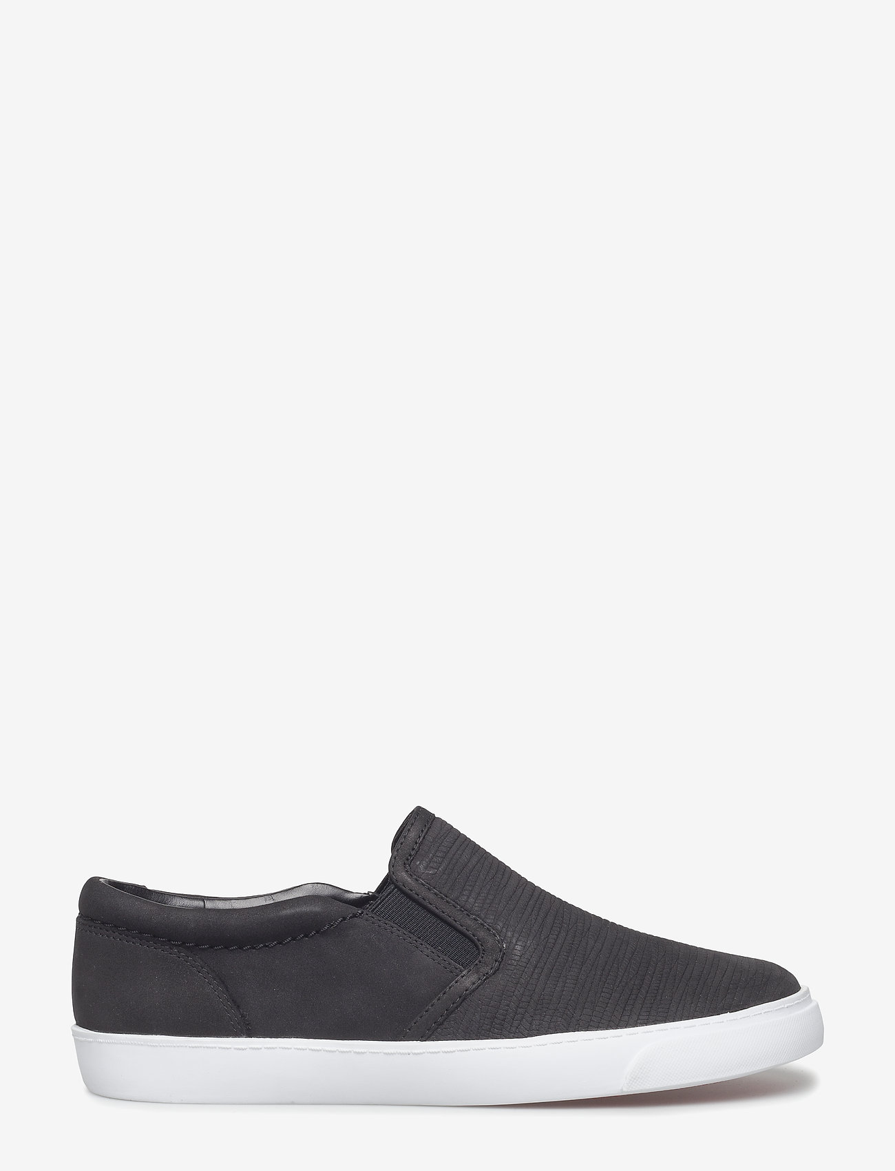 Clarks - Glove Puppet - slip-on sneakers - black nubuck - 1