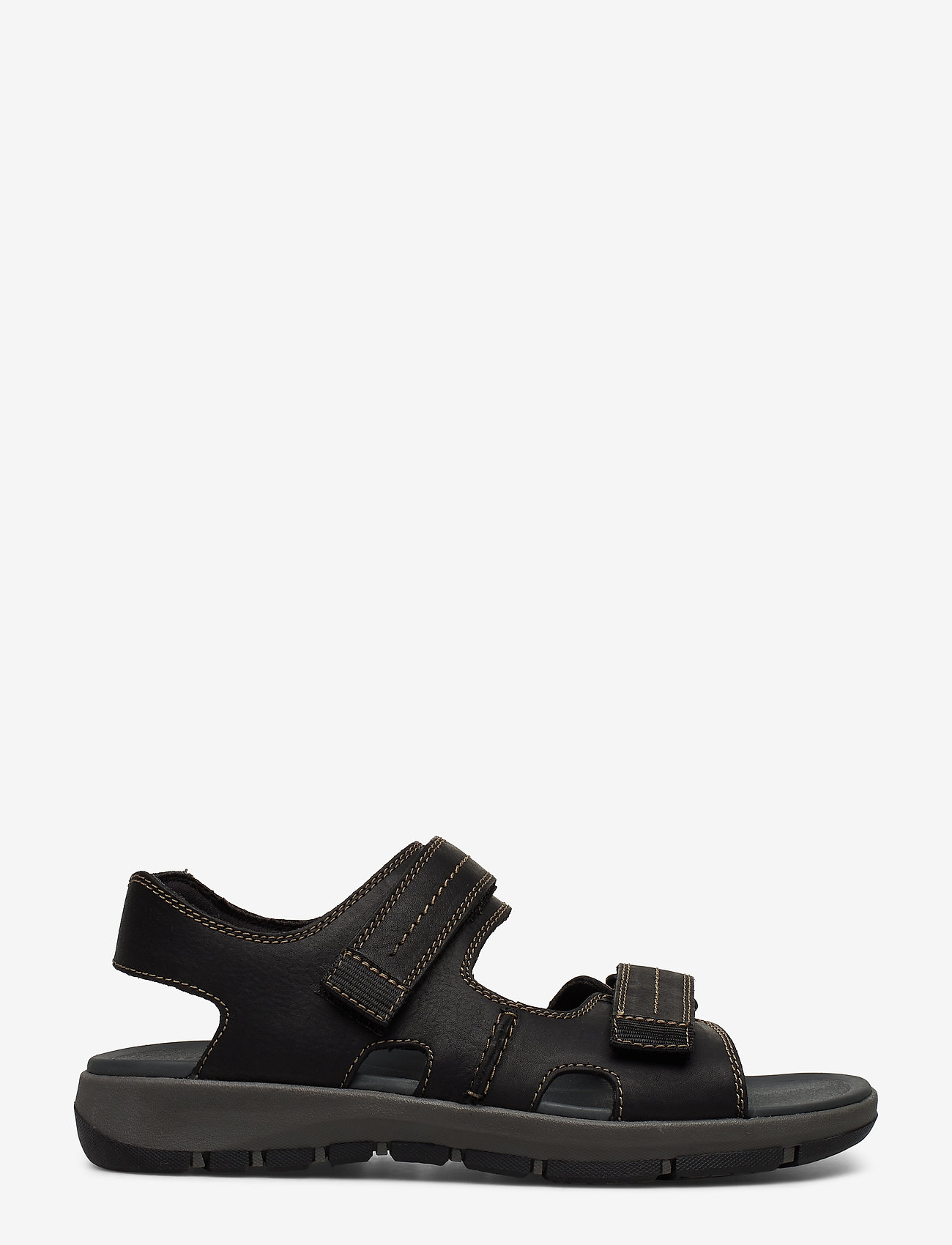 Clarks - Brixby Shore - sandaalit - black leather