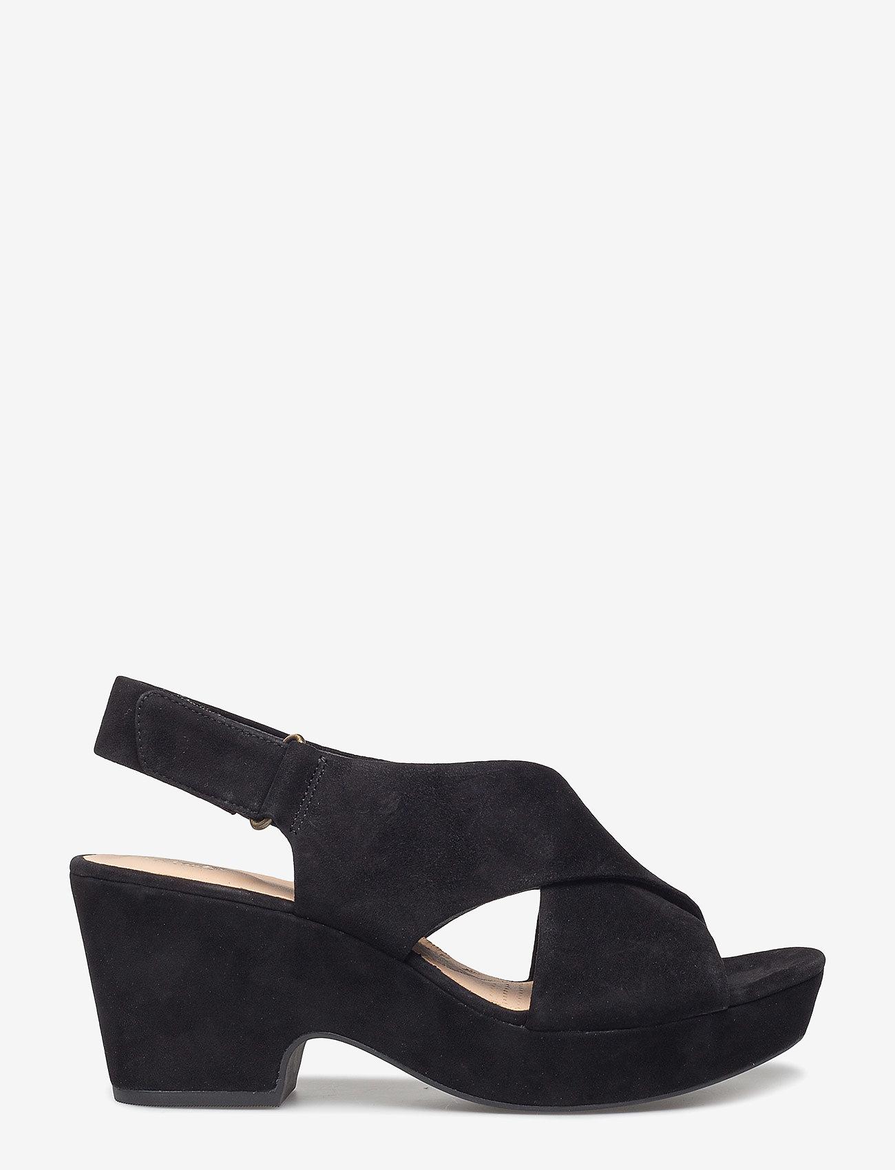 Clarks - Maritsa Lara - högklackade sandaler - black sde - 1