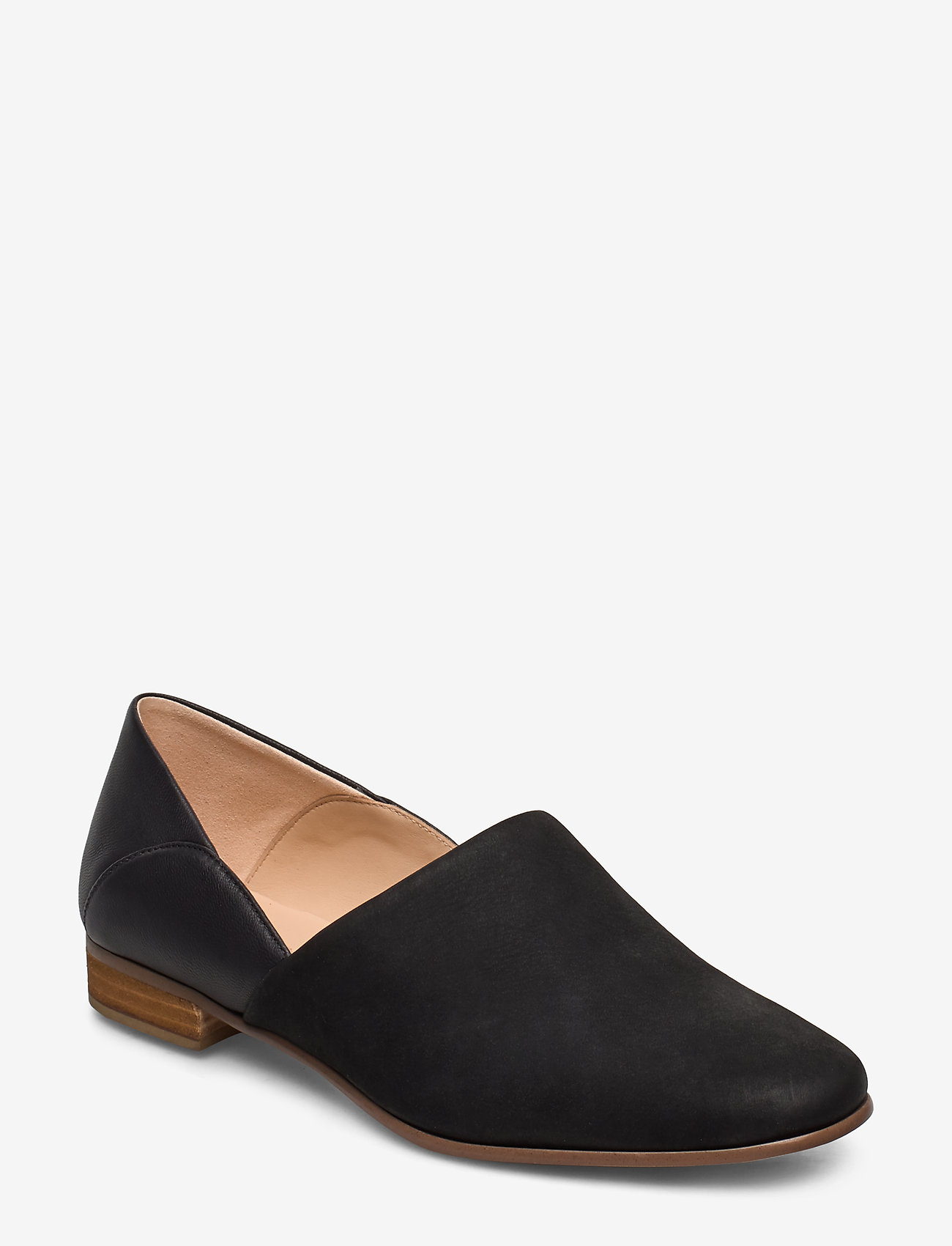 Clarks - Pure Tone - loafers - black combi - 0