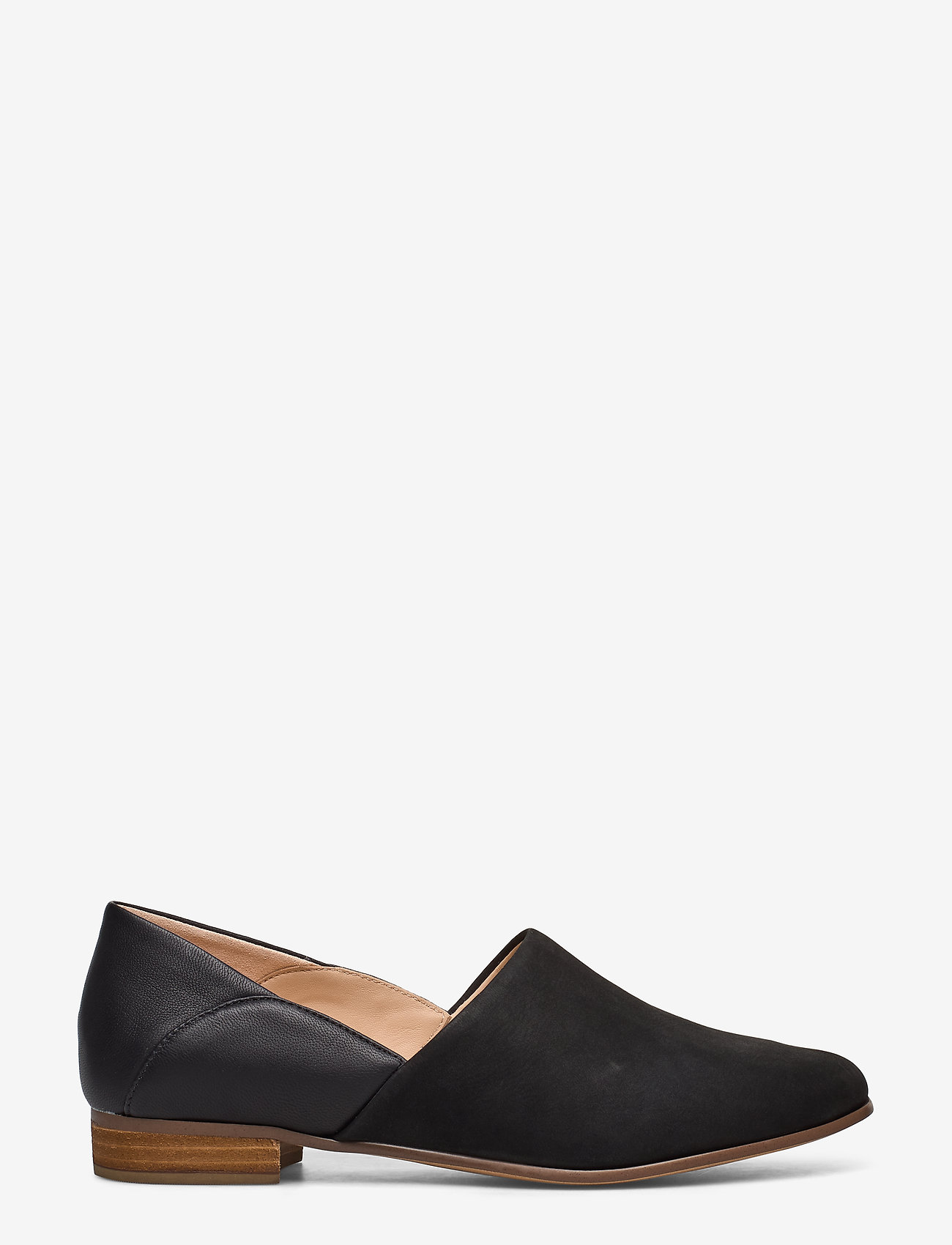 Clarks - Pure Tone - loafers - black combi - 1