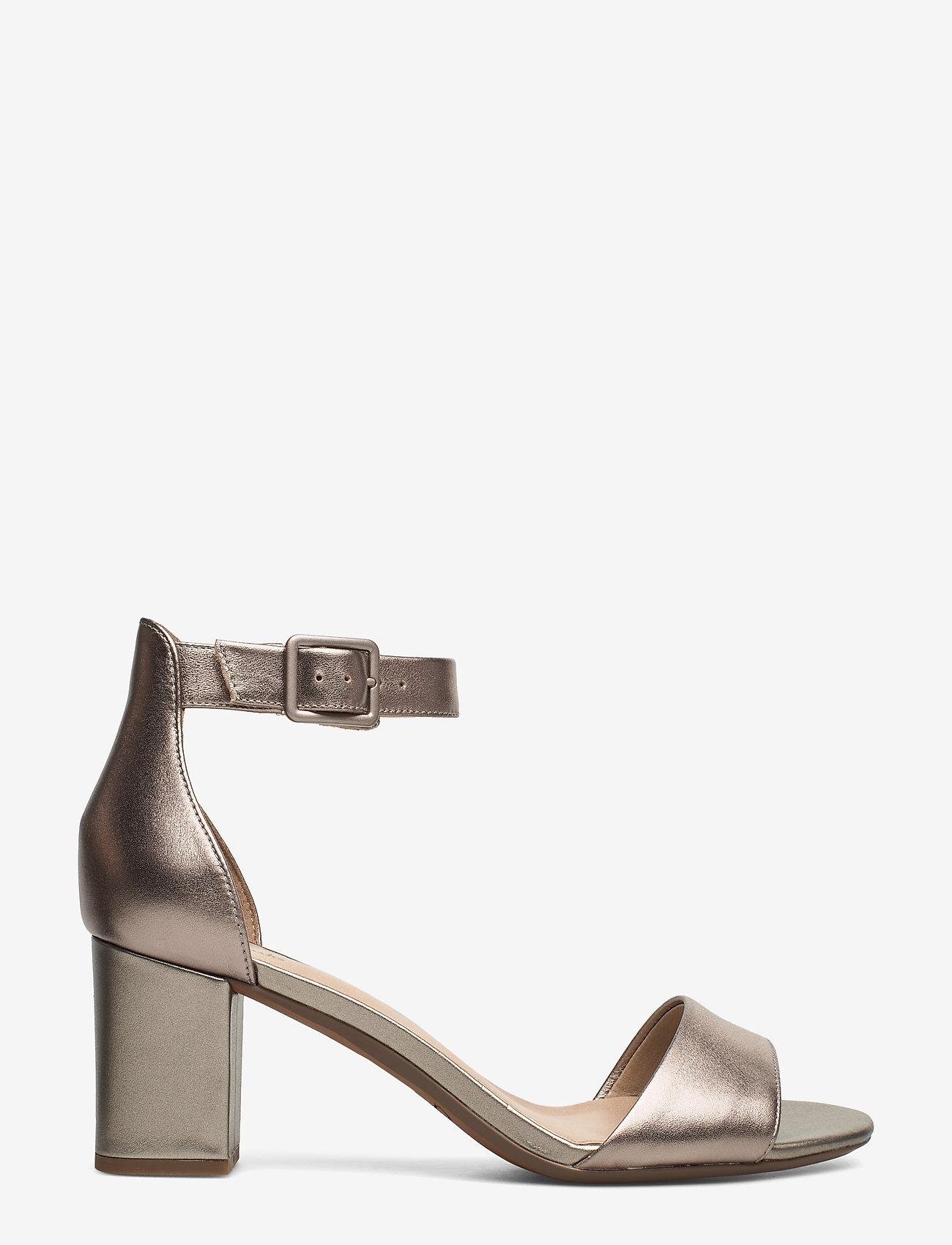 Clarks - Deva Mae - bröllopsskor - pewter leather - 1