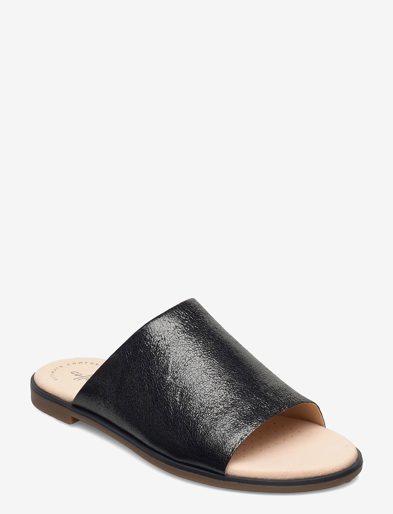 Clarks - Bay Petal - platta sandaler - black interest - 0