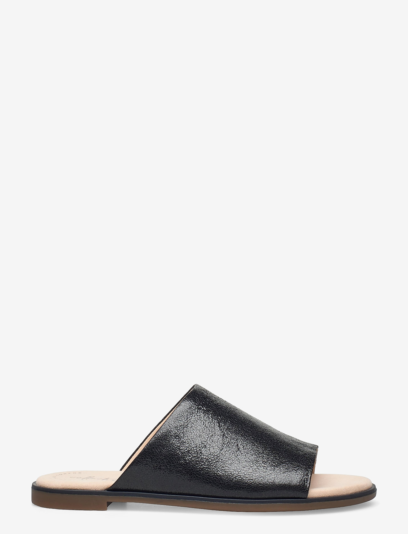 Clarks - Bay Petal - platta sandaler - black interest - 1