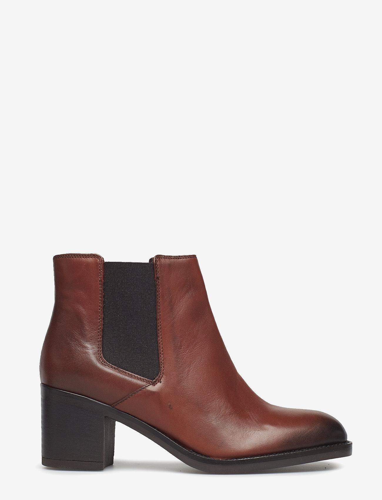 Clarks - Mascarpone Bay - ankelstøvler med hæl - tan leather - 1
