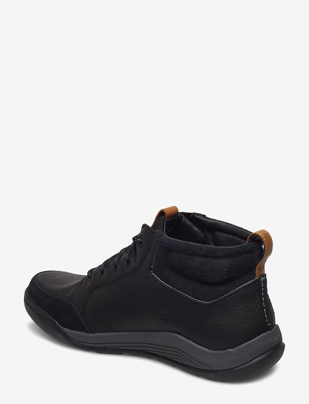 Ashcombemidgtx (Black Leather) - Clarks