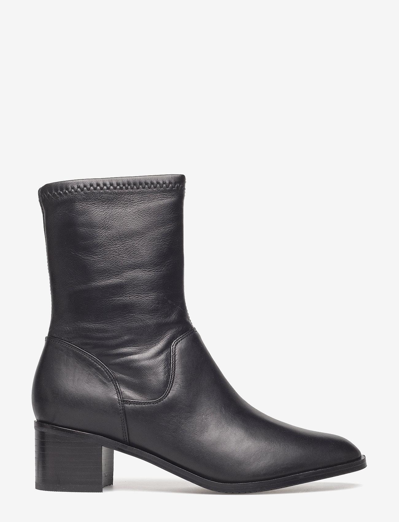 Clarks - Poise Leah - ankelstøvler med hæl - black leather - 1