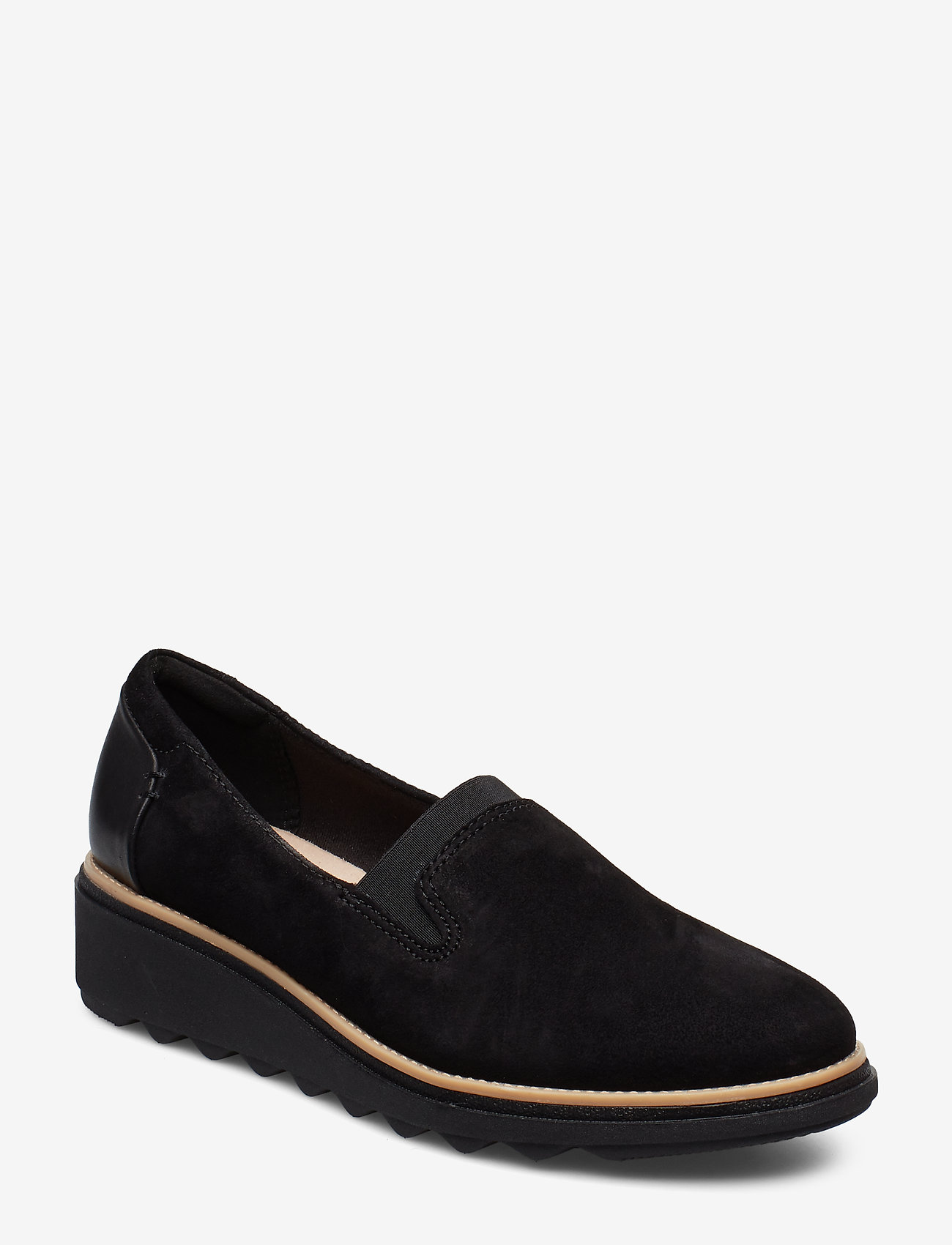 Clarks - Sharon Dolly - mokasiner - black sde - 0