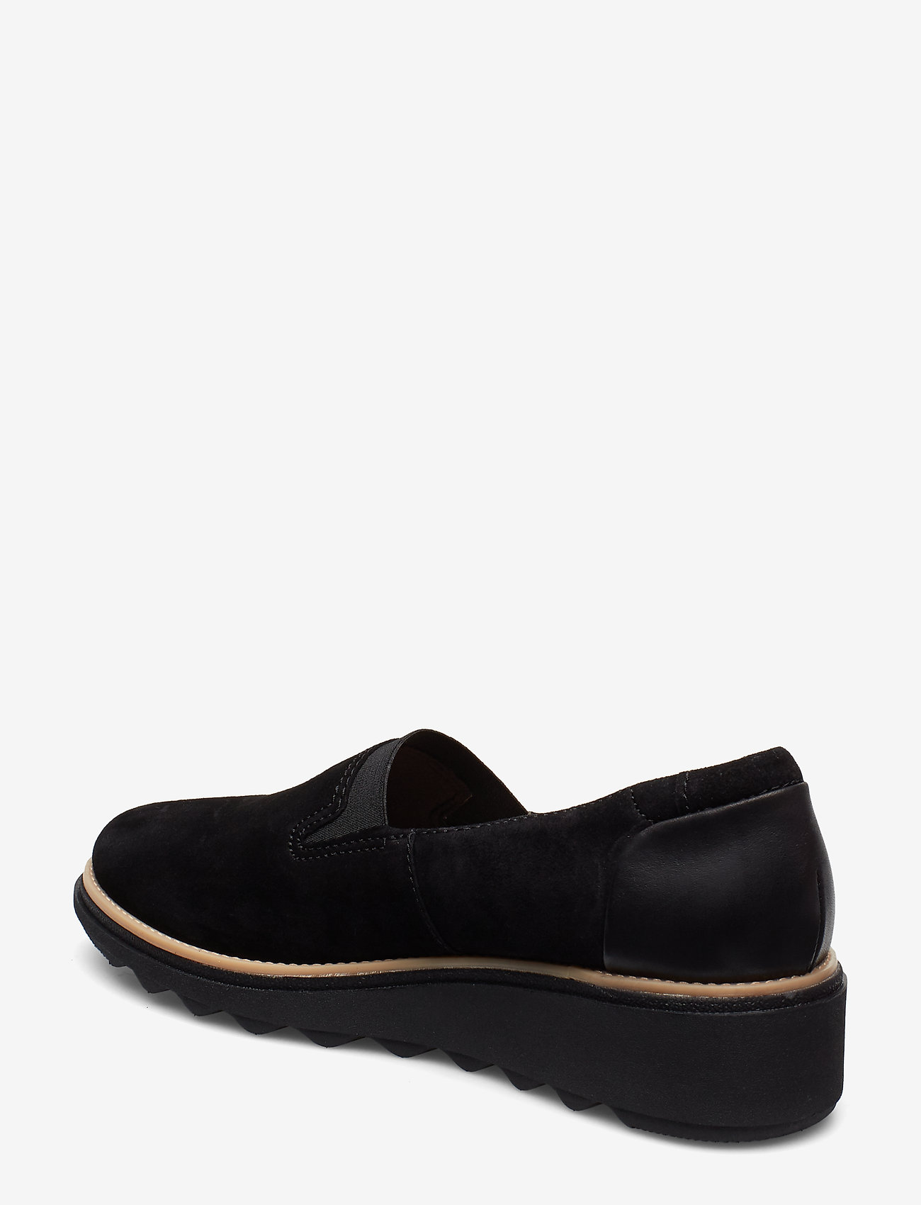 Clarks Sharon Dolly - Platta Skor Black Sde