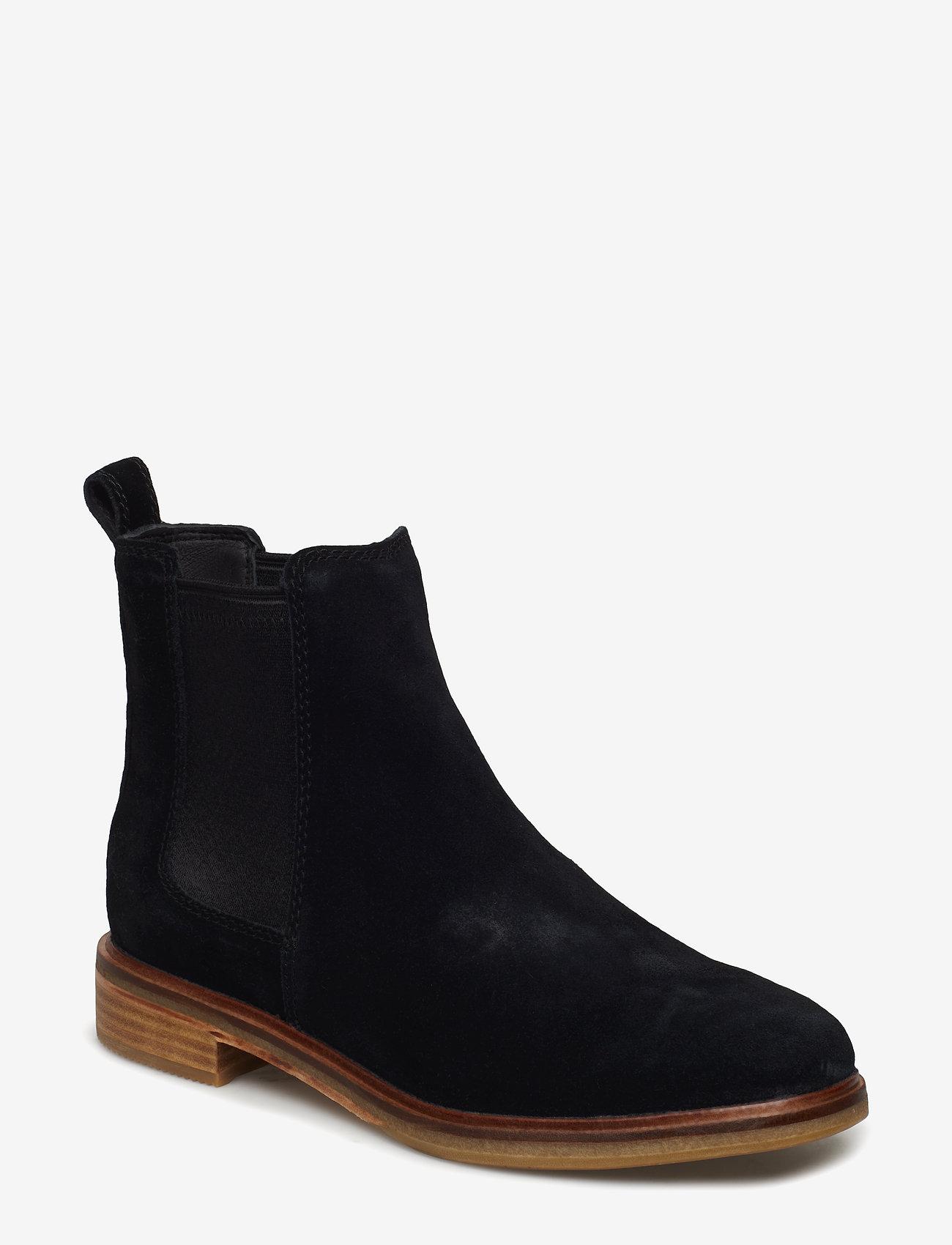 Clarks - Clarkdale Arlo - chelsea boots - black sde - 0