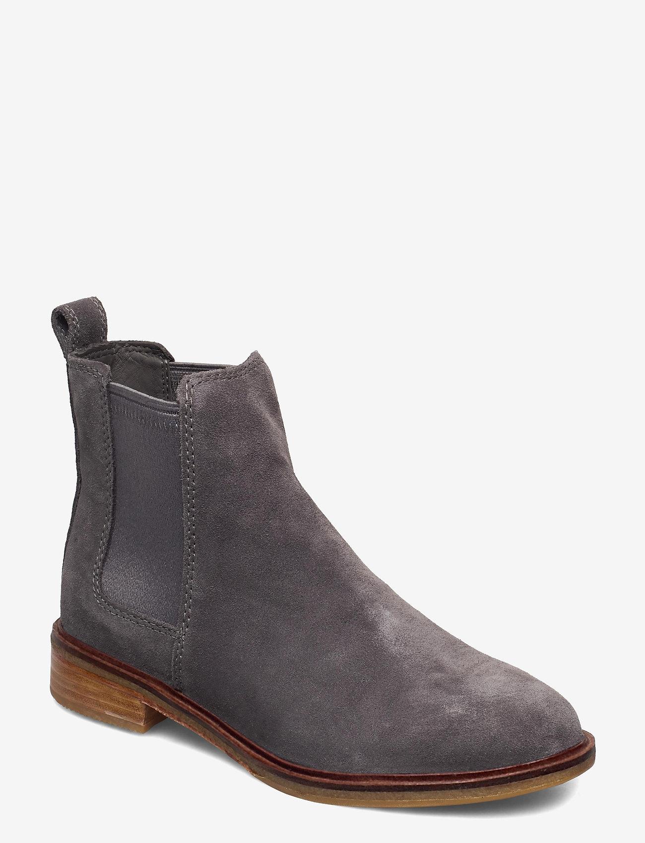 Clarks - Clarkdale Arlo - chelsea boots - grey suede - 0