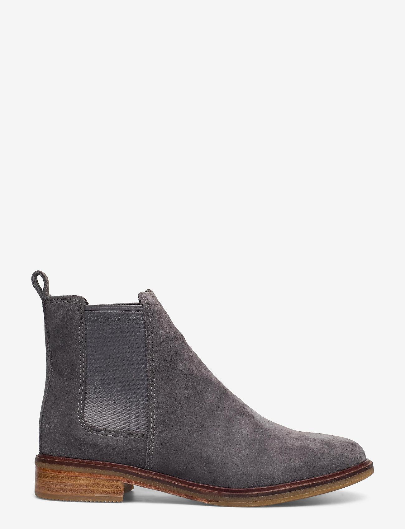 Clarks - Clarkdale Arlo - chelsea boots - grey suede - 1