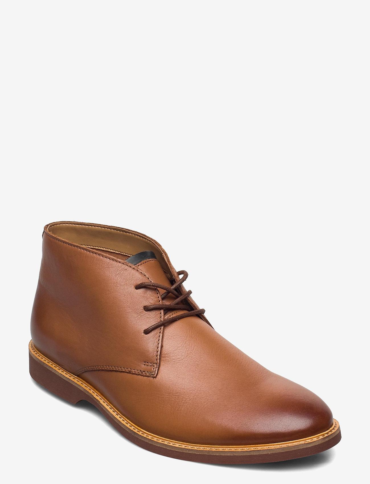 Clarks - Atticus Limit - desert boots - tan leather - 0