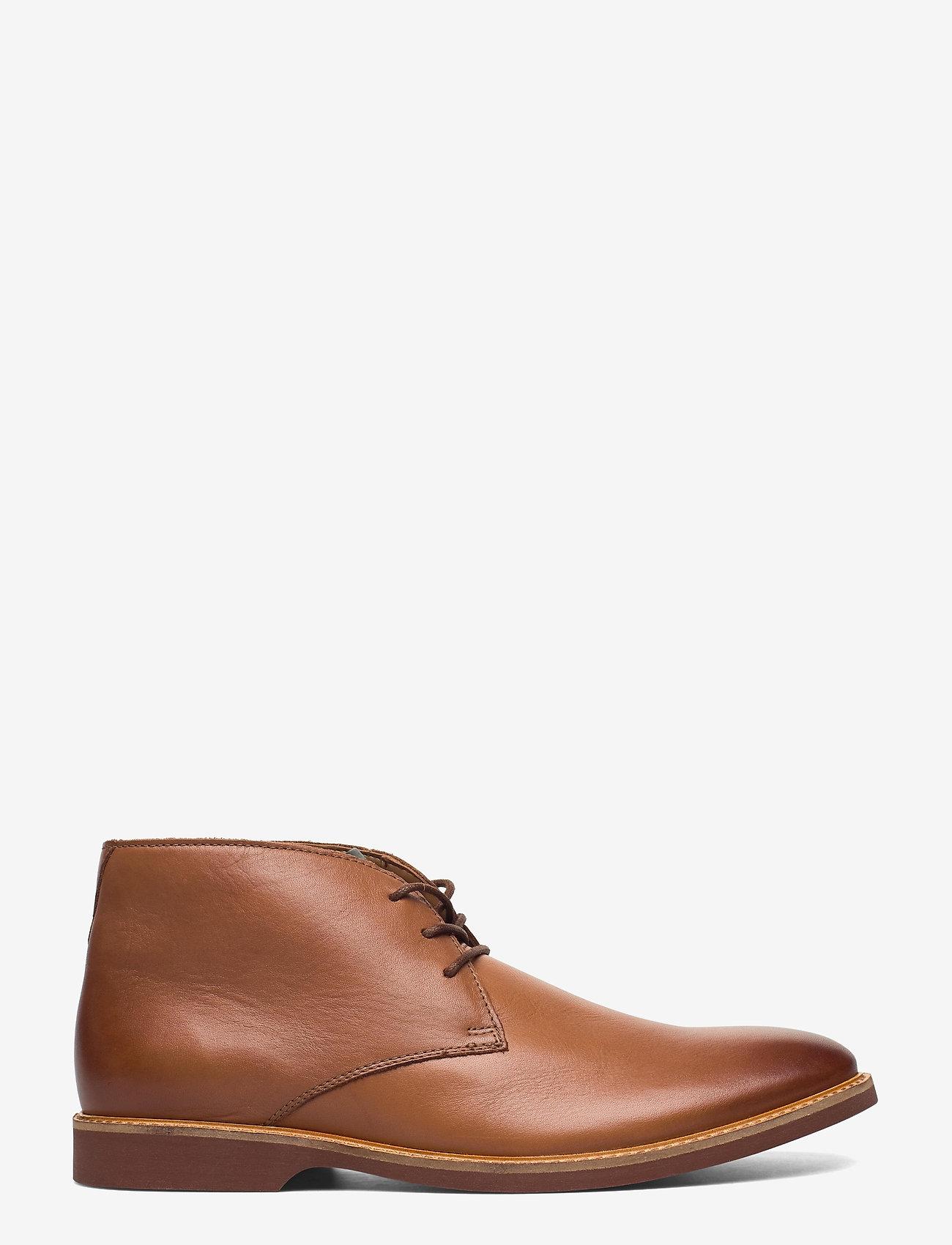 Clarks - Atticus Limit - desert boots - tan leather - 1