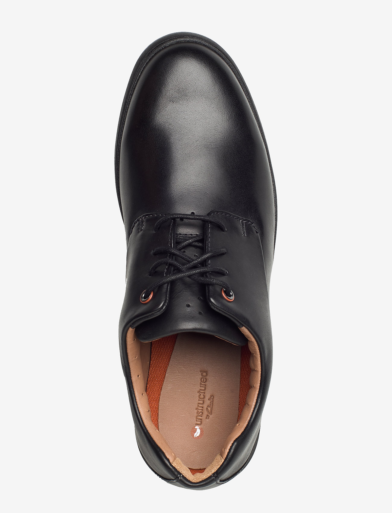 Un Voyageplain (Black Leather) - Clarks
