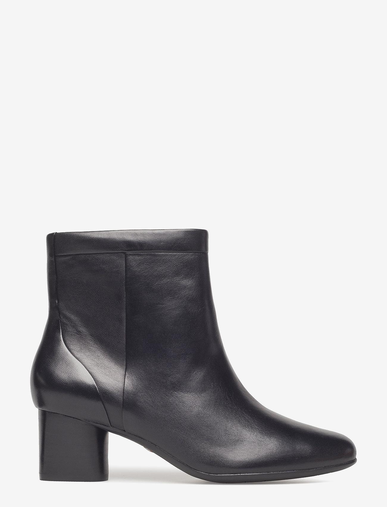 Clarks - Un Cosmo Up - ankelstøvletter med hæl - black leather - 1