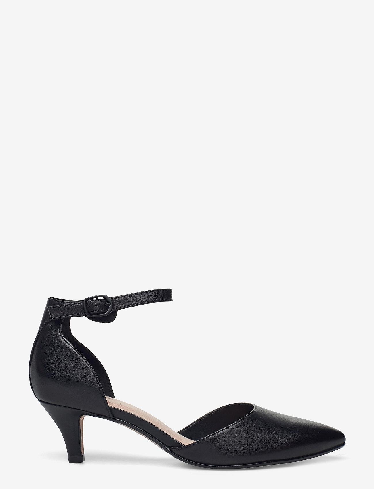 Clarks - Linvale Edyth - klassiska pumps - black leather - 1
