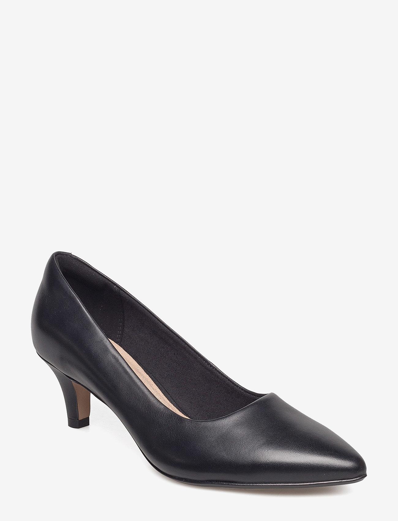 Clarks - Linvale Jerica - klassiska pumps - black leather - 0
