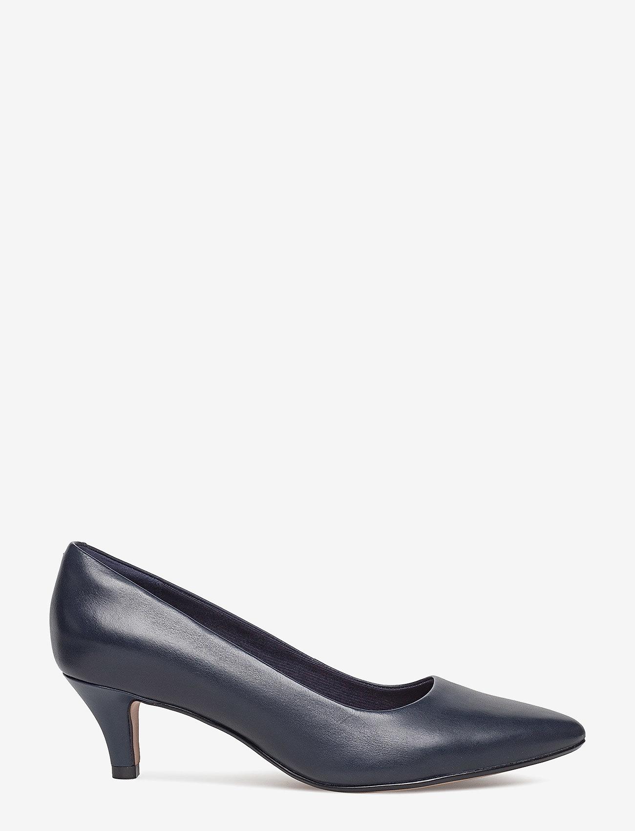 Clarks - Linvale Jerica - klassiska pumps - navy leather - 1