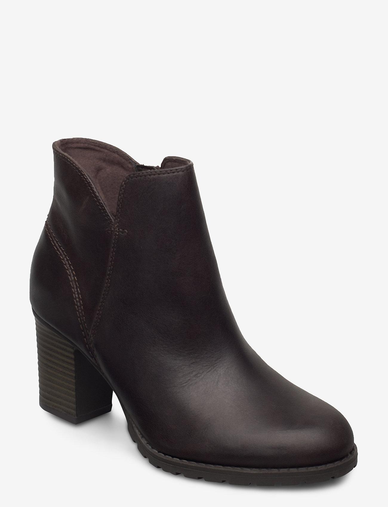 Clarks - Verona Trish - ankelboots med klack - taupe leather - 0