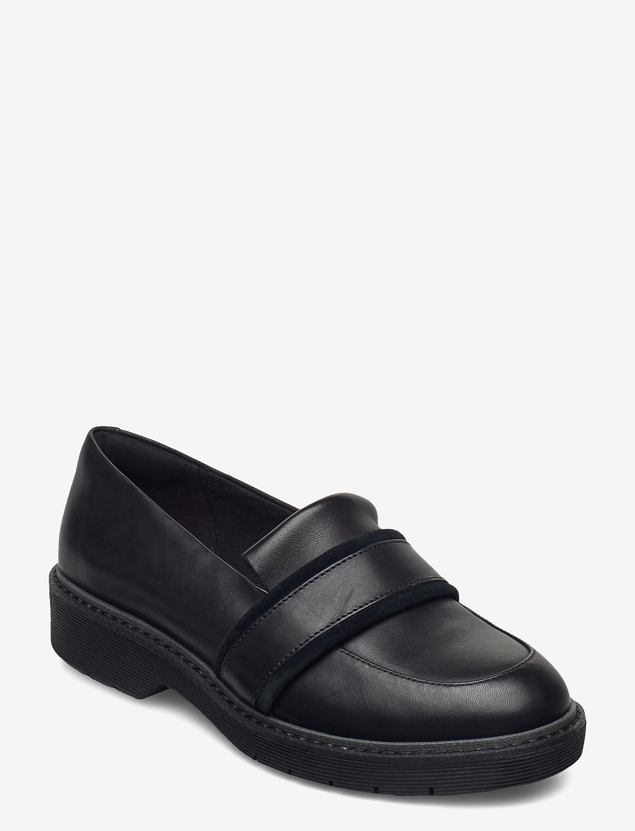 Clarks - Alexa Ruby - loafers - black leather - 0