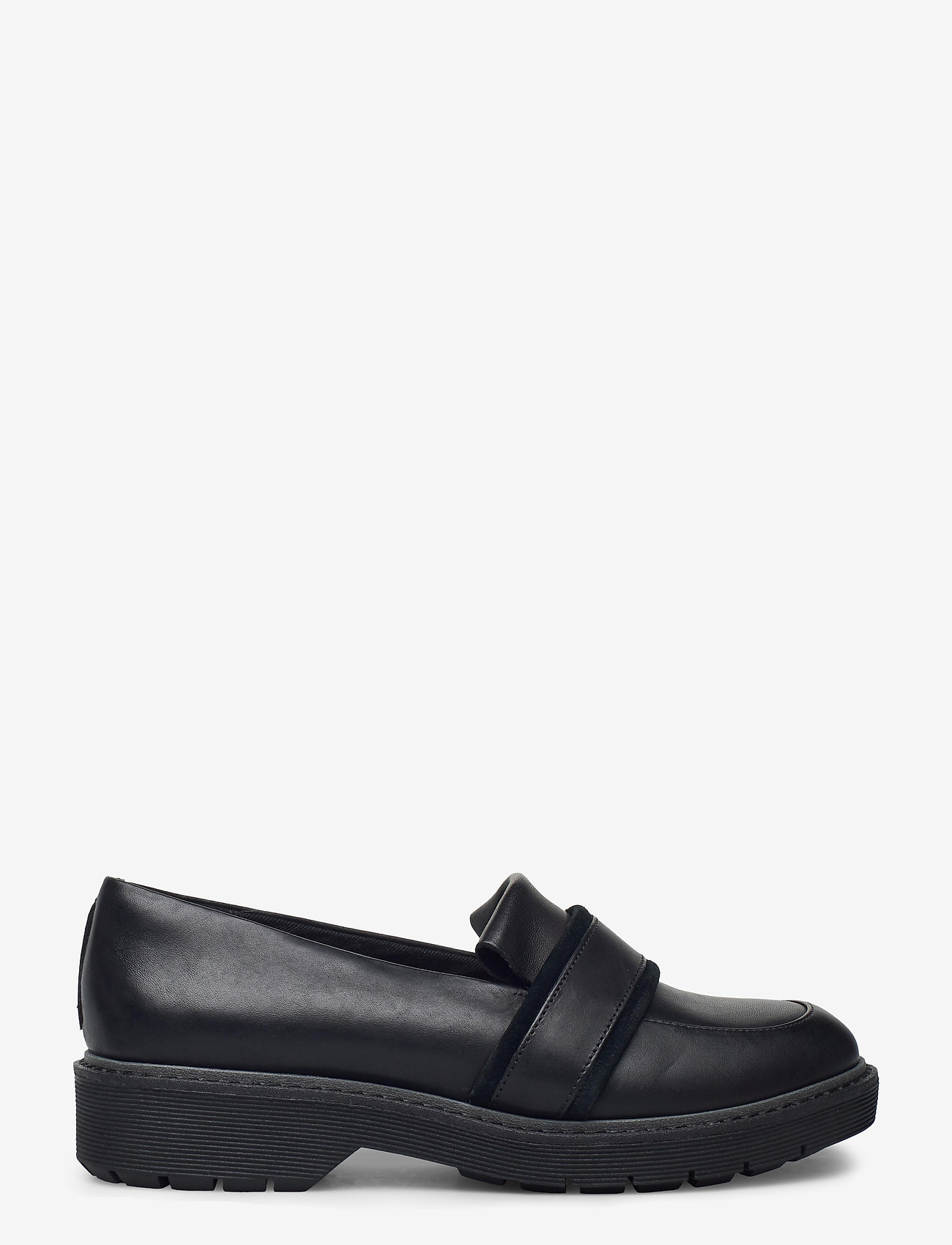 Clarks - Alexa Ruby - loafers - black leather - 1