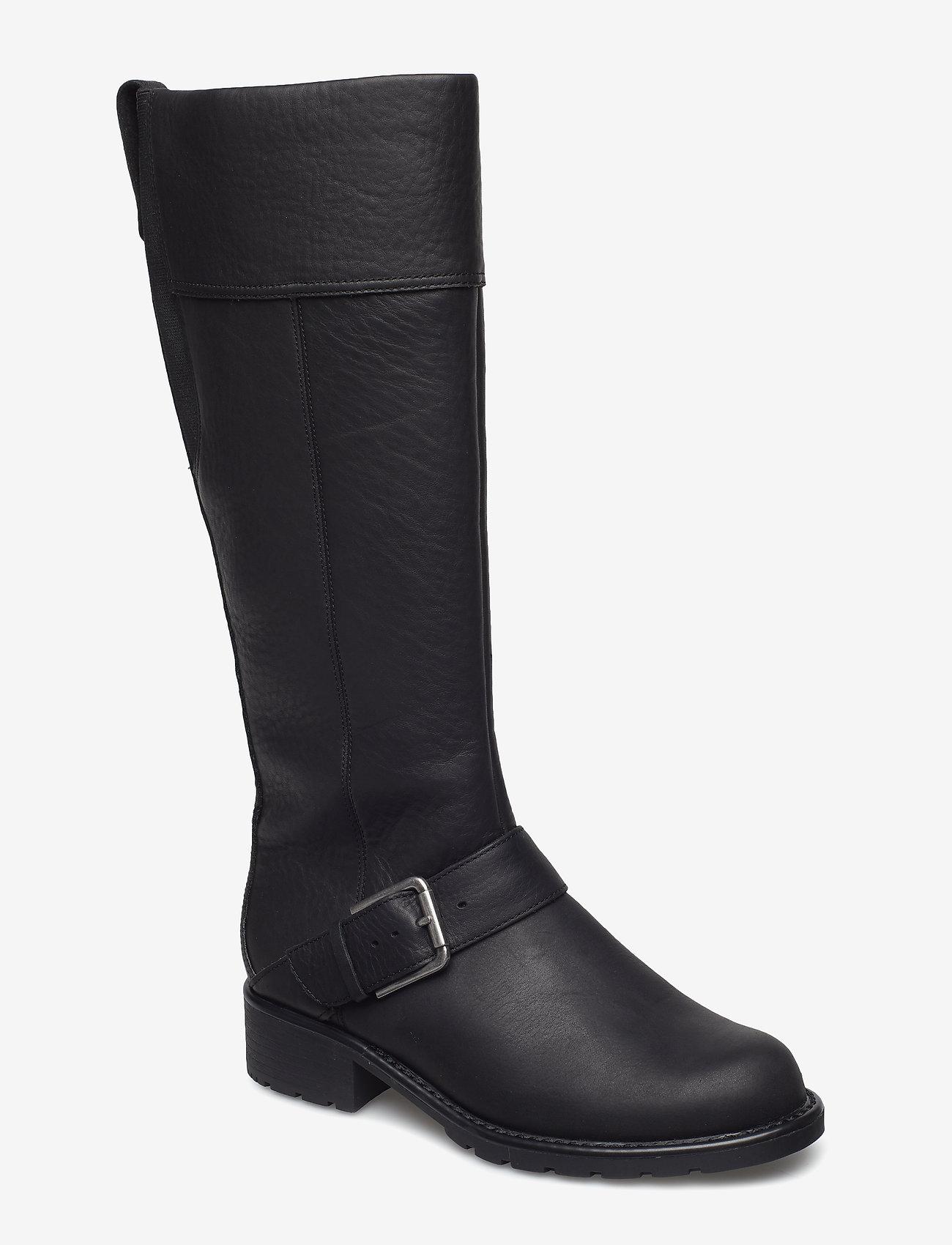 Clarks - Orinoco Jazz - høye boots - black wlined lea - 0