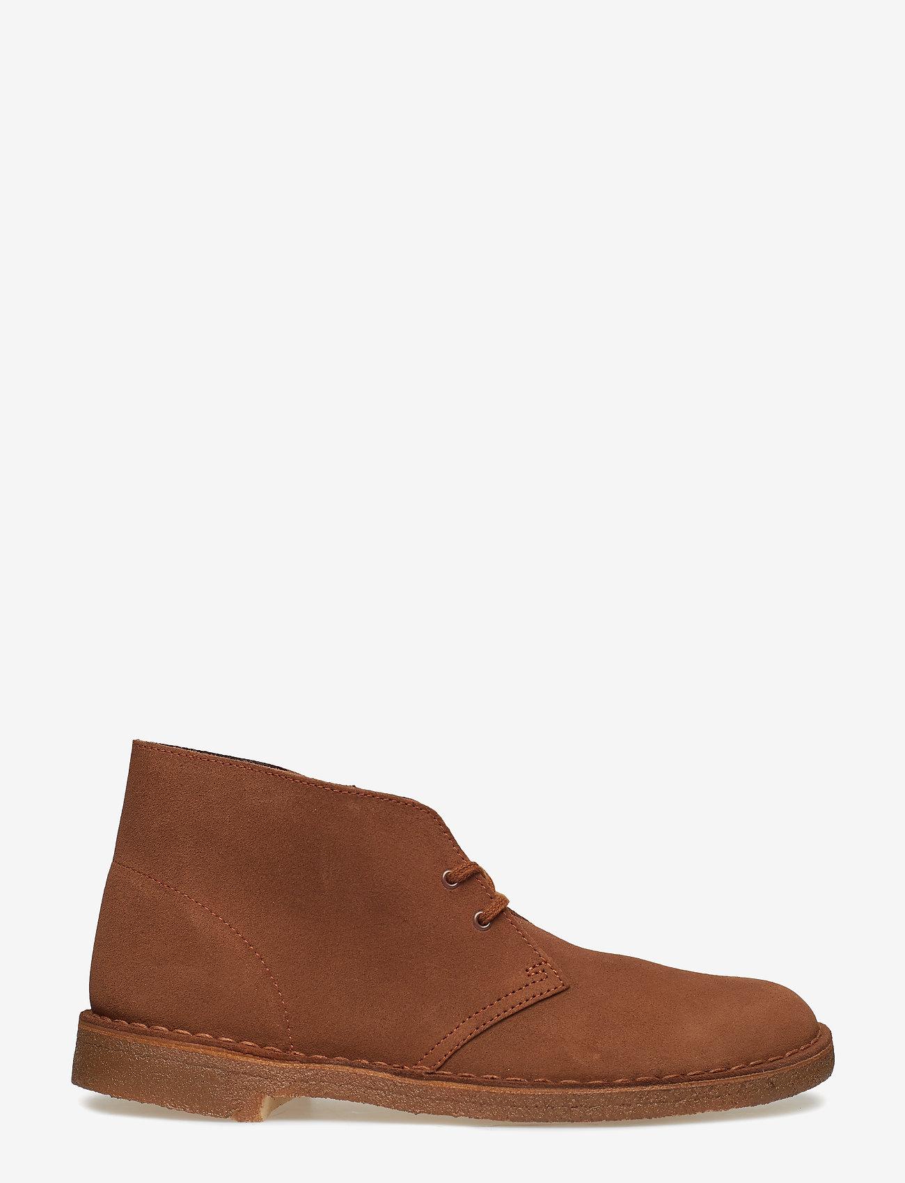 Clarks - Desert Boot - desert boots - cola suede - 1