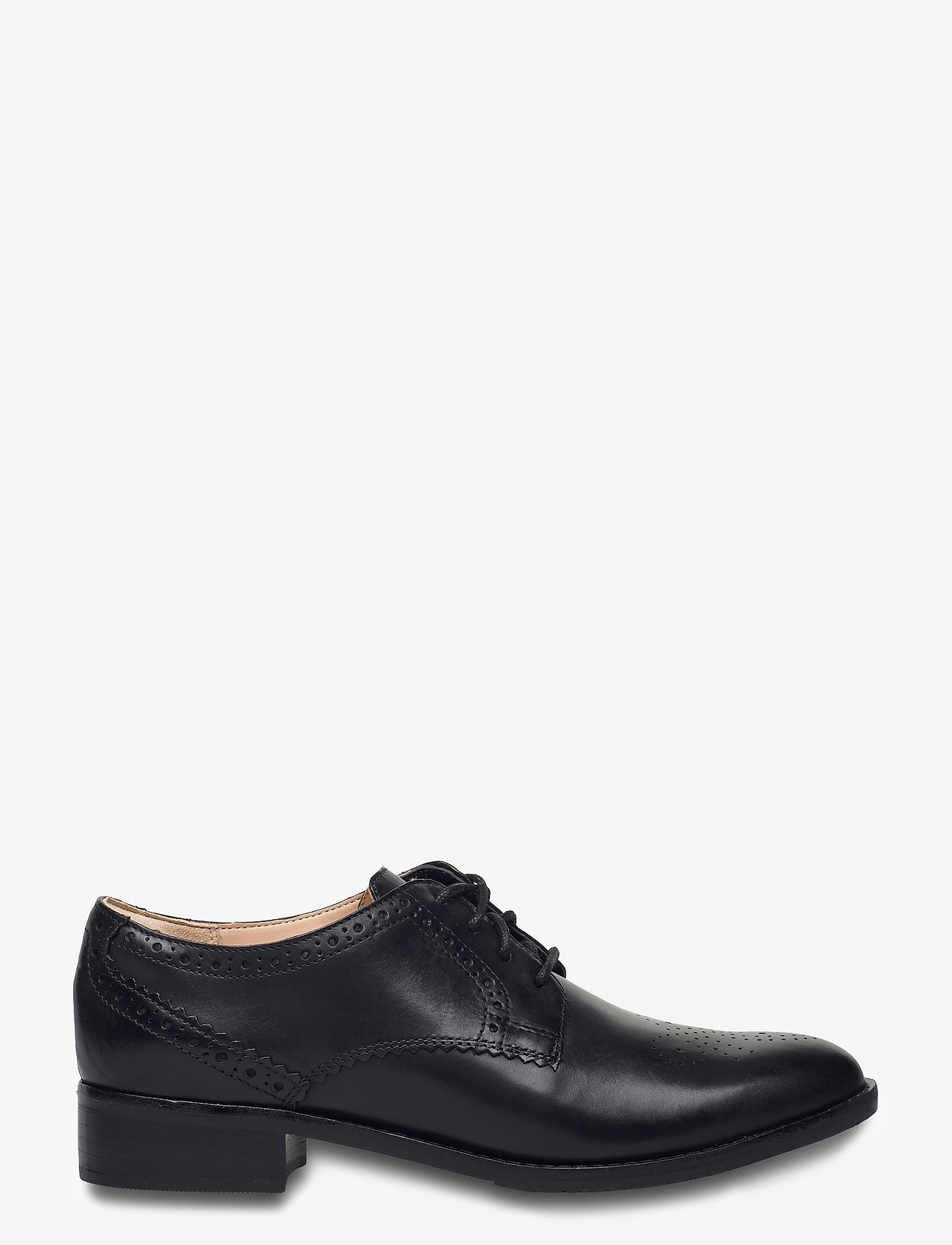 Clarks - Netley Rose - schnürschuhe - black leather - 1
