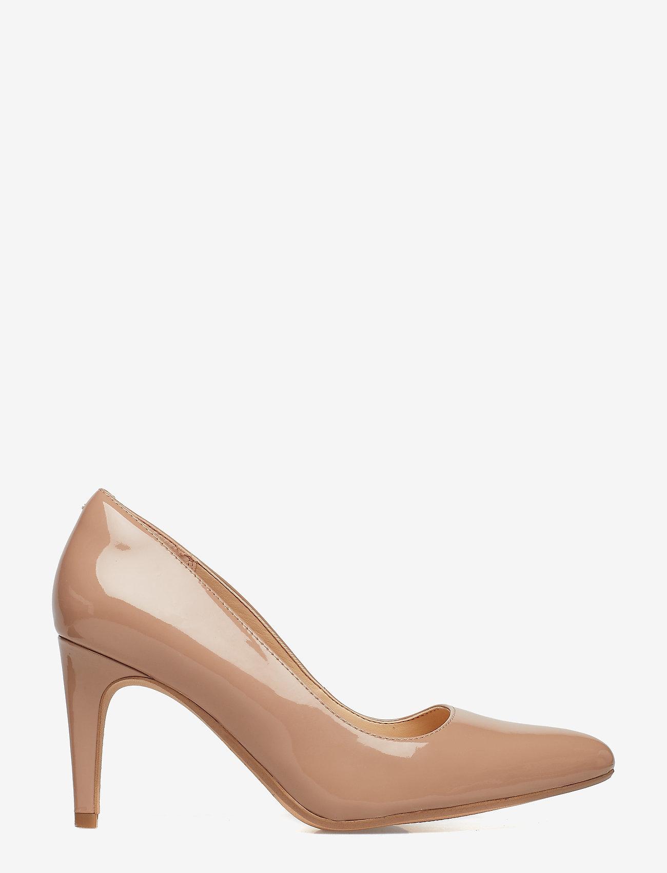 Clarks - Laina Rae - escarpins classiques - nude patent - 1