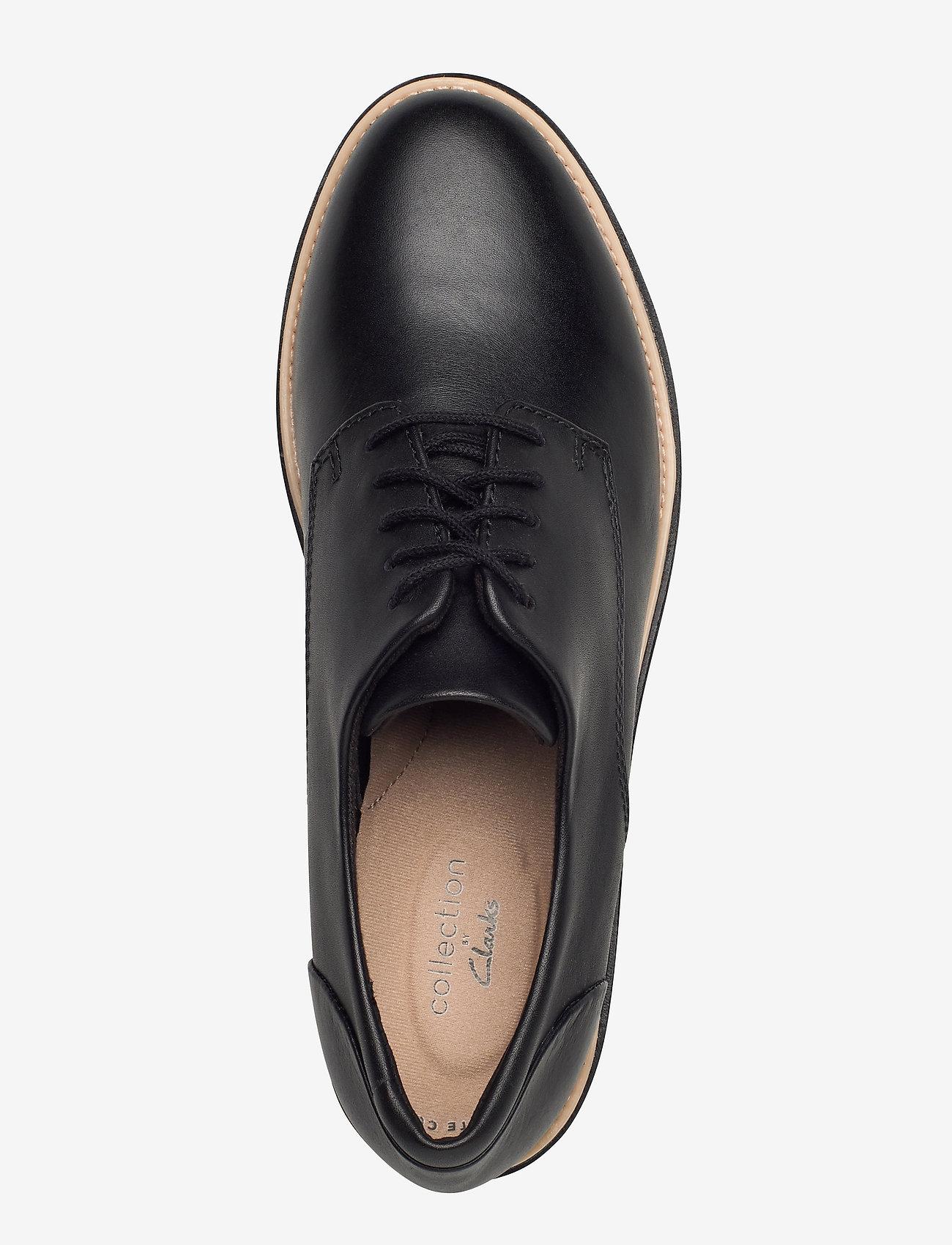 Clarks Sharon Noel - Flache Schuhe BLACK LEATHER - Schuhe Billige