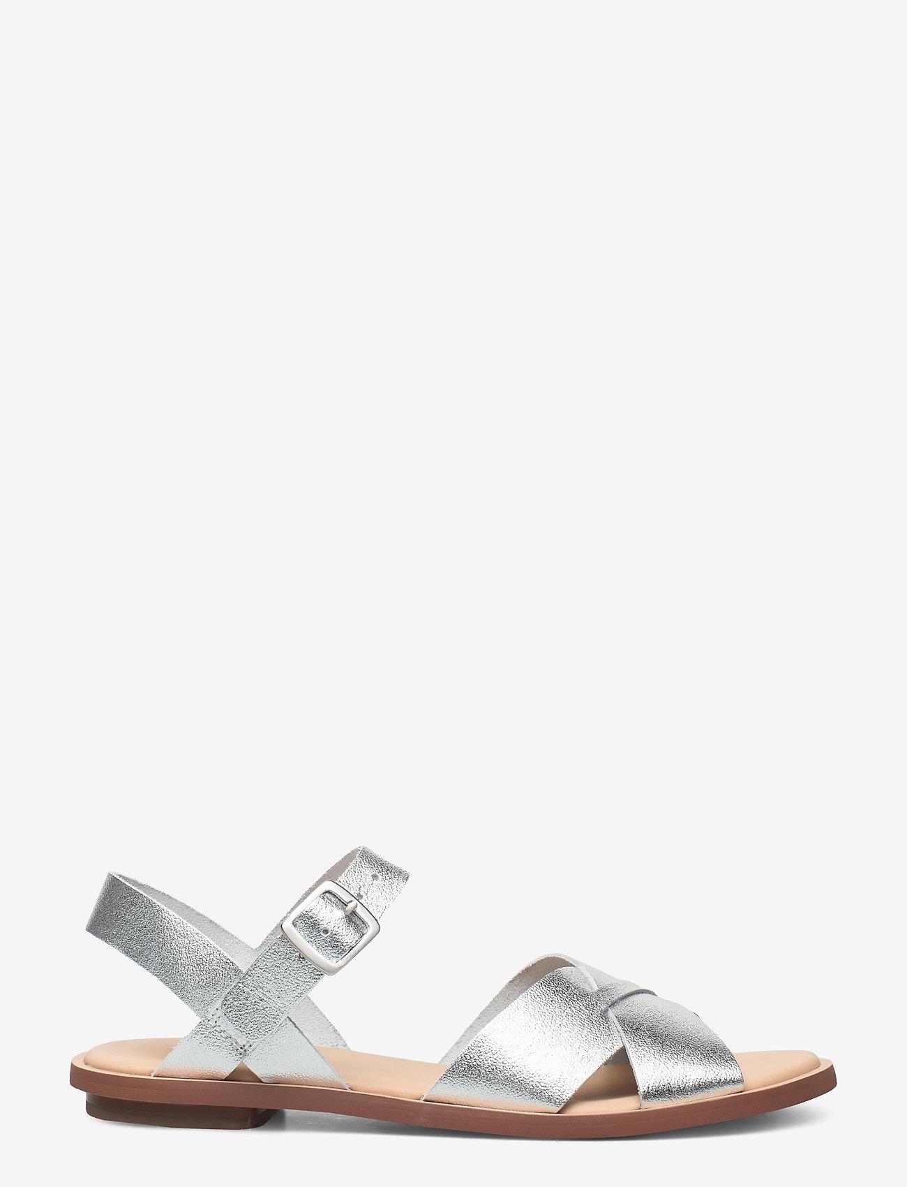 Clarks - Willow Gild - platta sandaler - silver metallic - 1