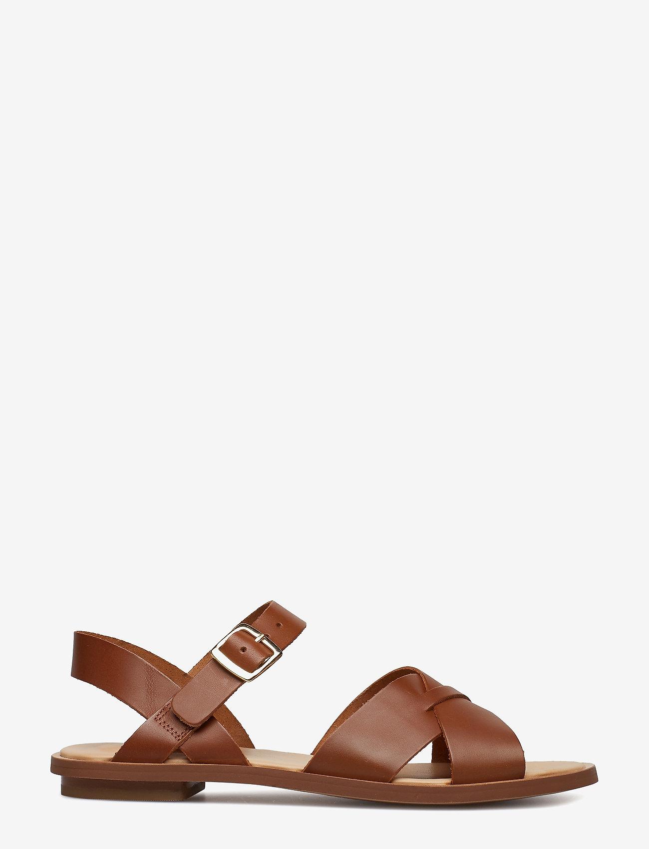 Clarks Willow Gild - Sandalen LIGHT TAN LEA - Schuhe Billige