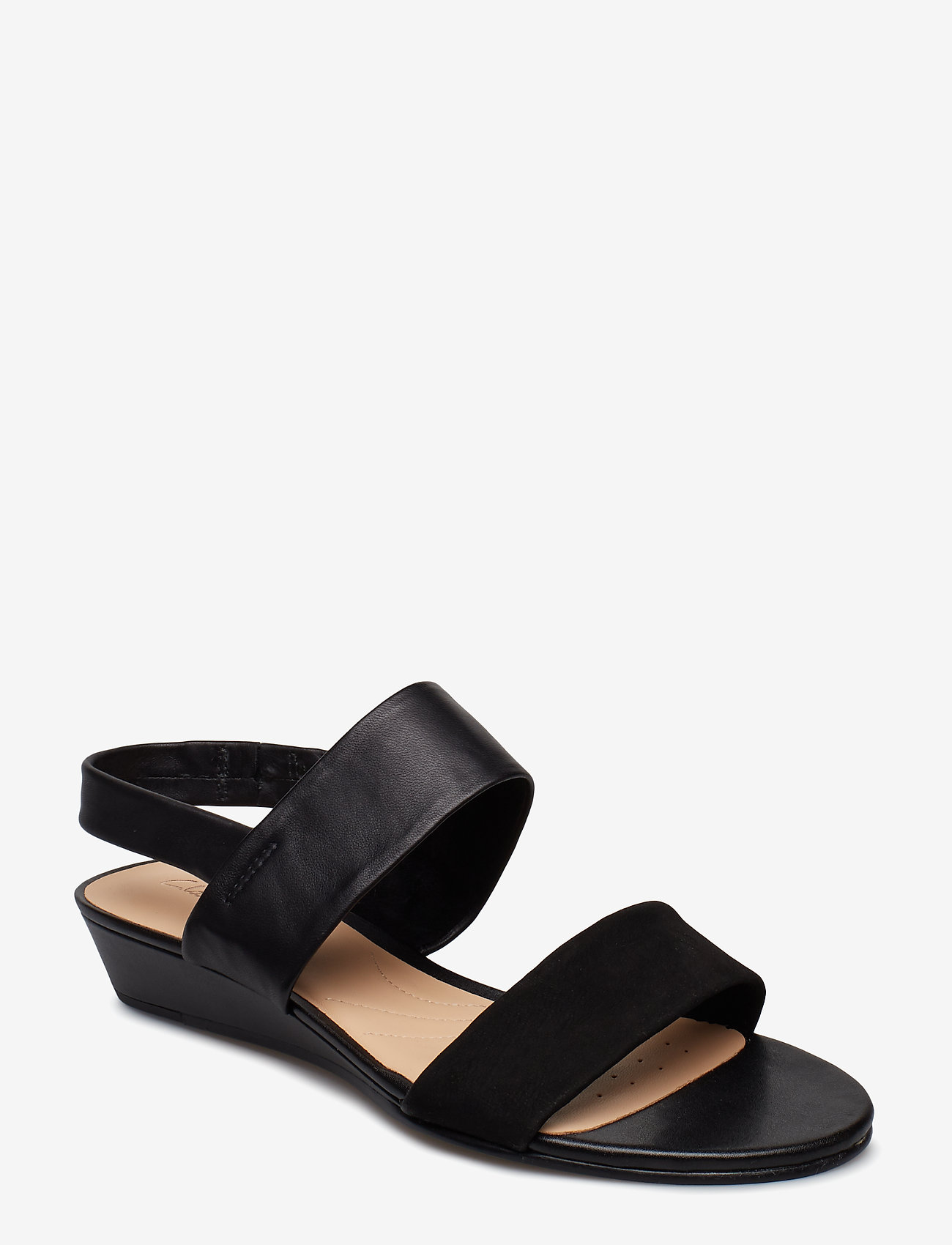 Clarks - Sense Lily - platta sandaler - black combi - 0