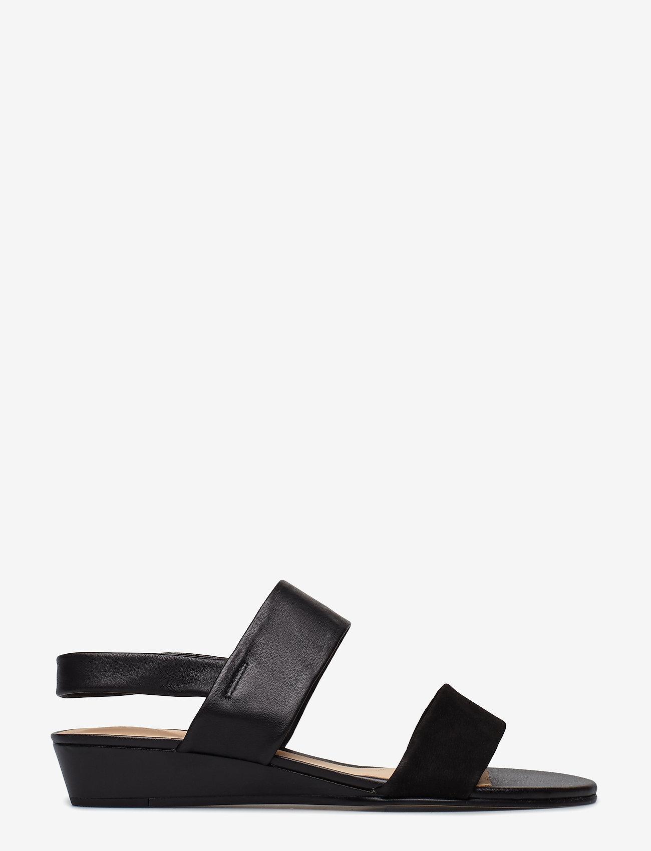 Clarks - Sense Lily - platta sandaler - black combi - 1