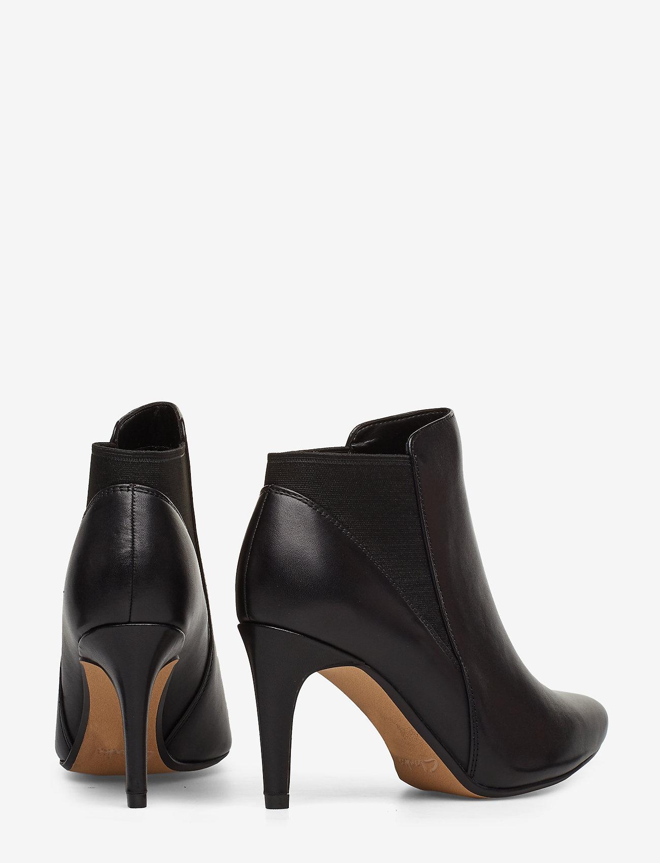 Clarks Laina Violet - Stiefel BLACK LEATHER - Schuhe Billige