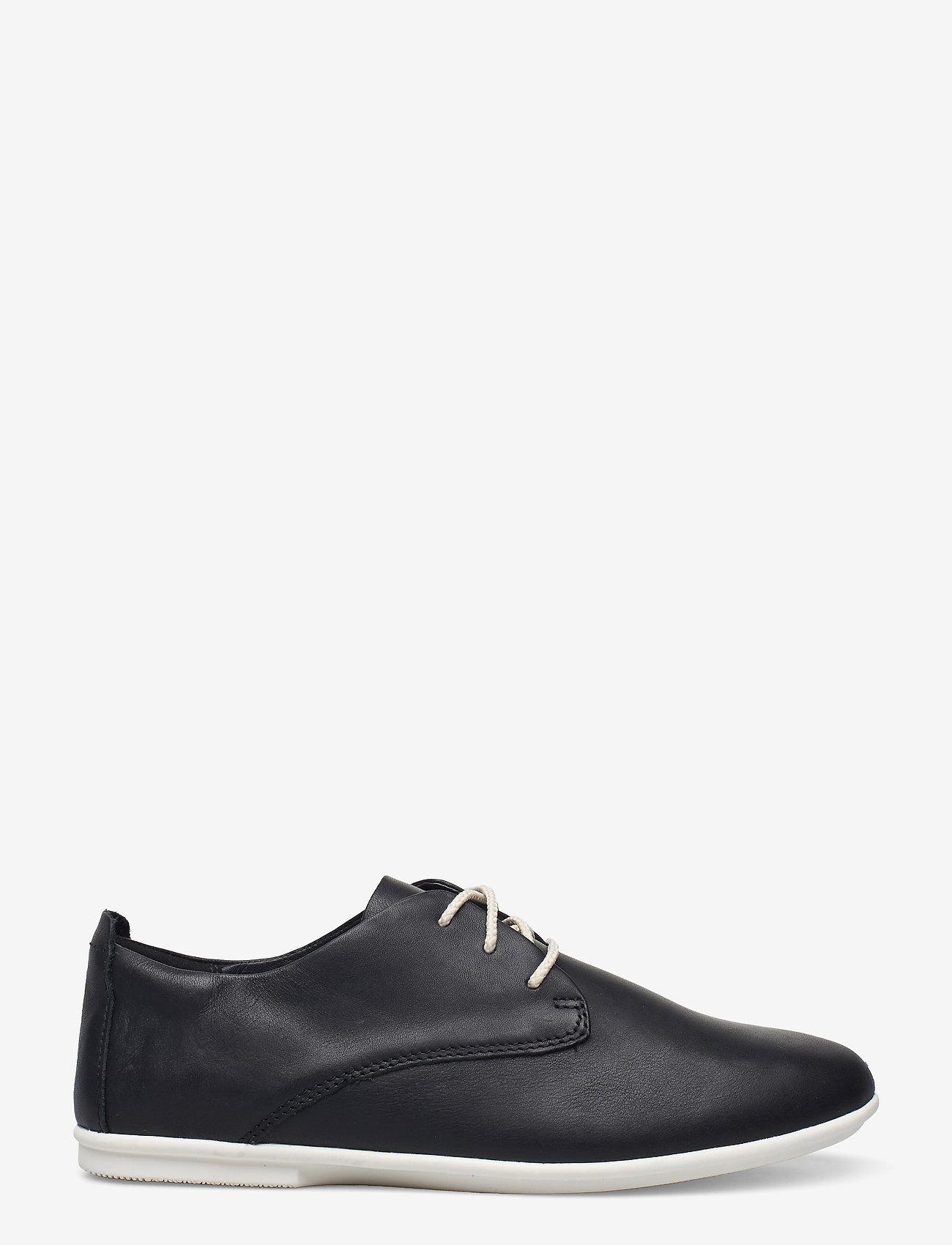 Clarks - Un Coral Lace - snörskor - black leather - 1