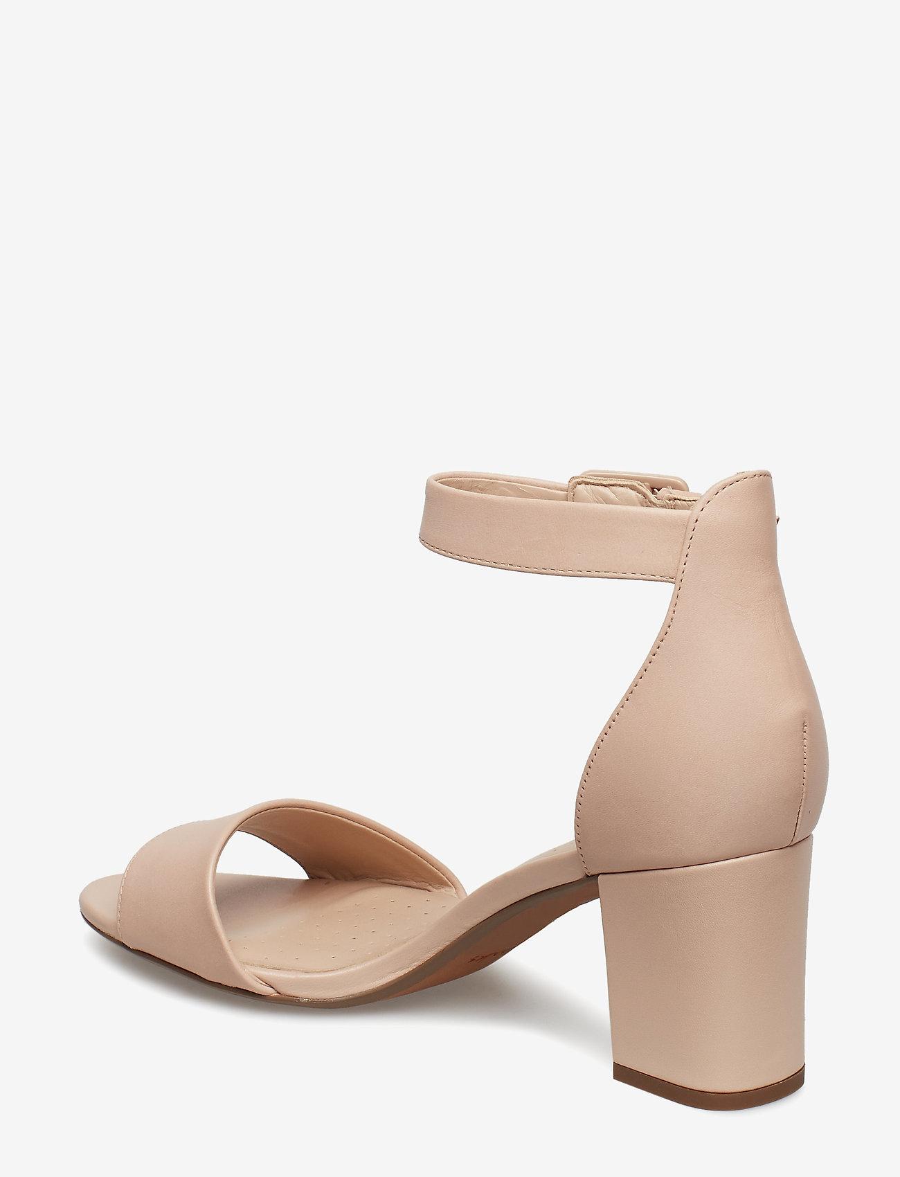 Clarks Deva Mae - Absatzschuhe NUDE - Schuhe Billige