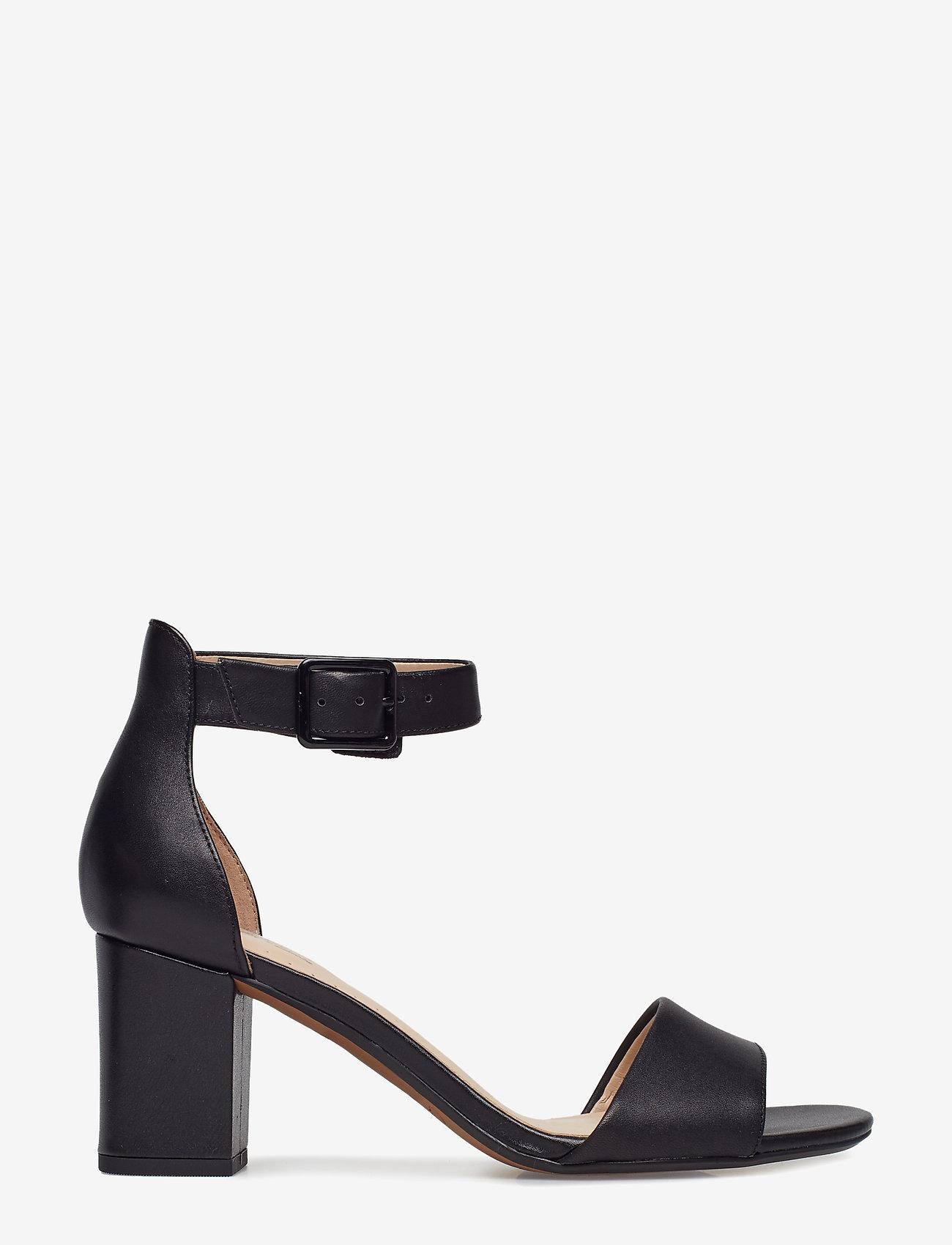 Clarks - Deva Mae - sandales à talons - black leather - 1