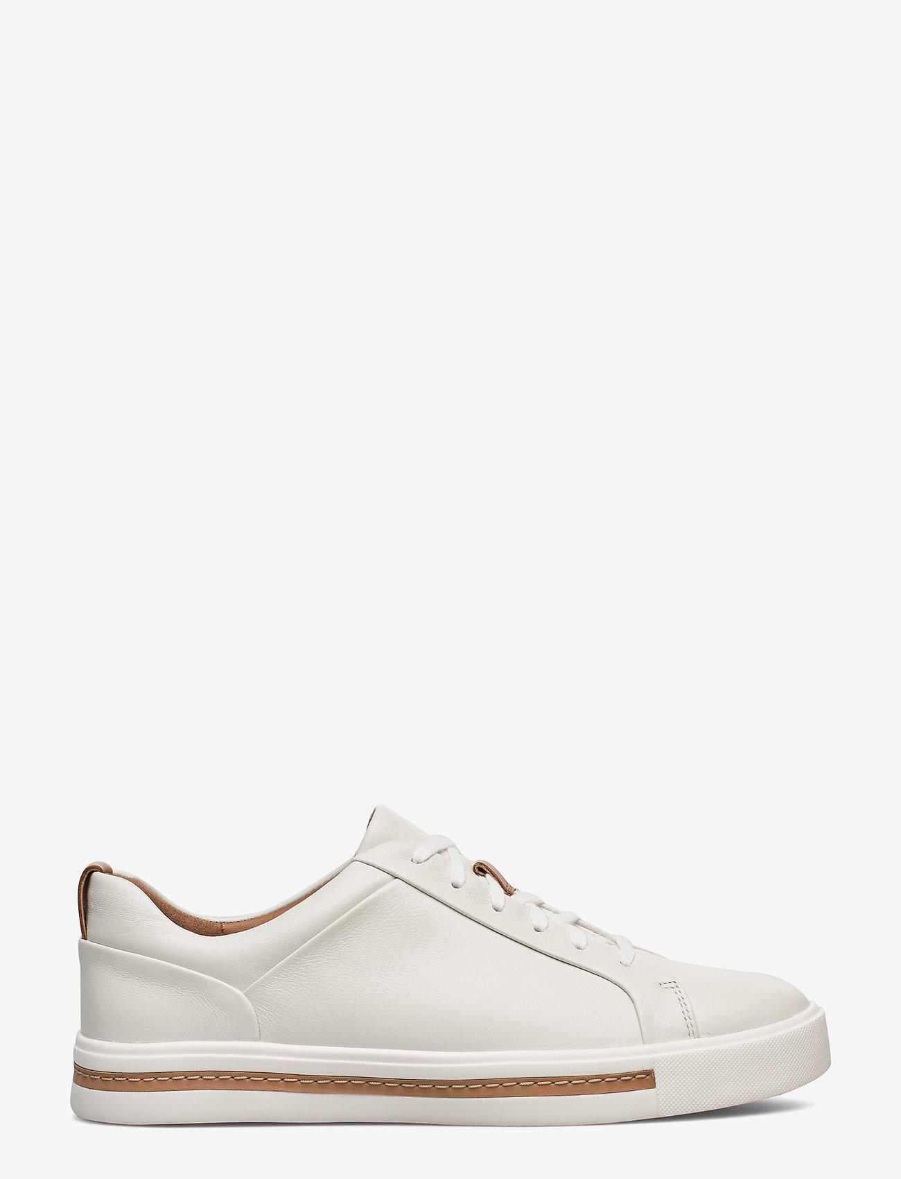 Clarks - Un Maui Lace - låga sneakers - white leather - 1