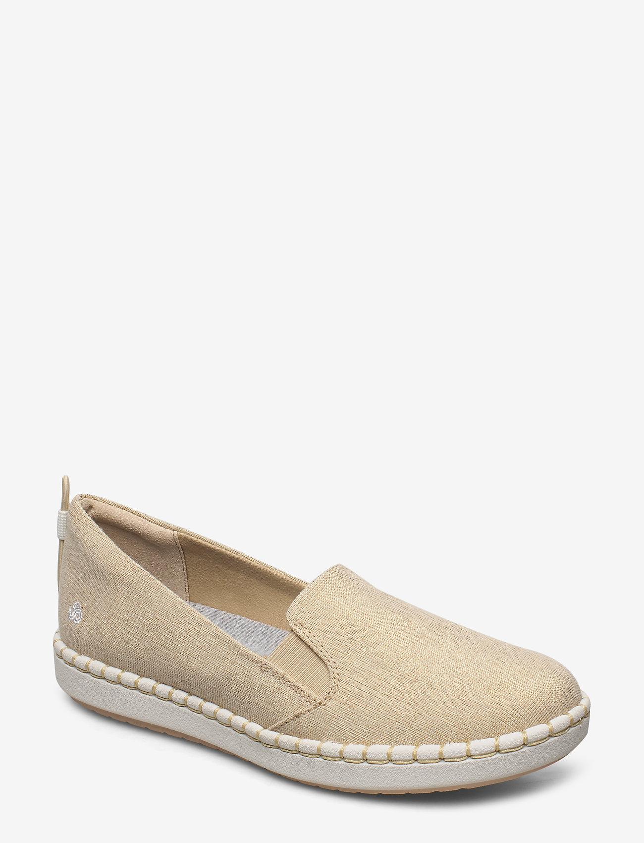 Clarks - Step Glow Slip - loafers - soft gold - 0